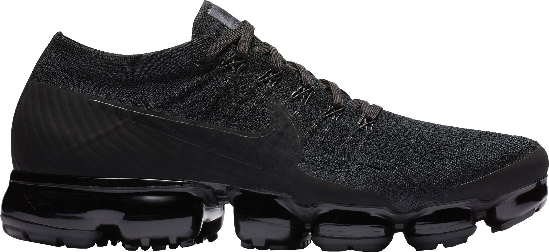 ee93f492cc41e1 Lyst - Nike Air Vapormax Flyknit Running Shoes in Black for Men