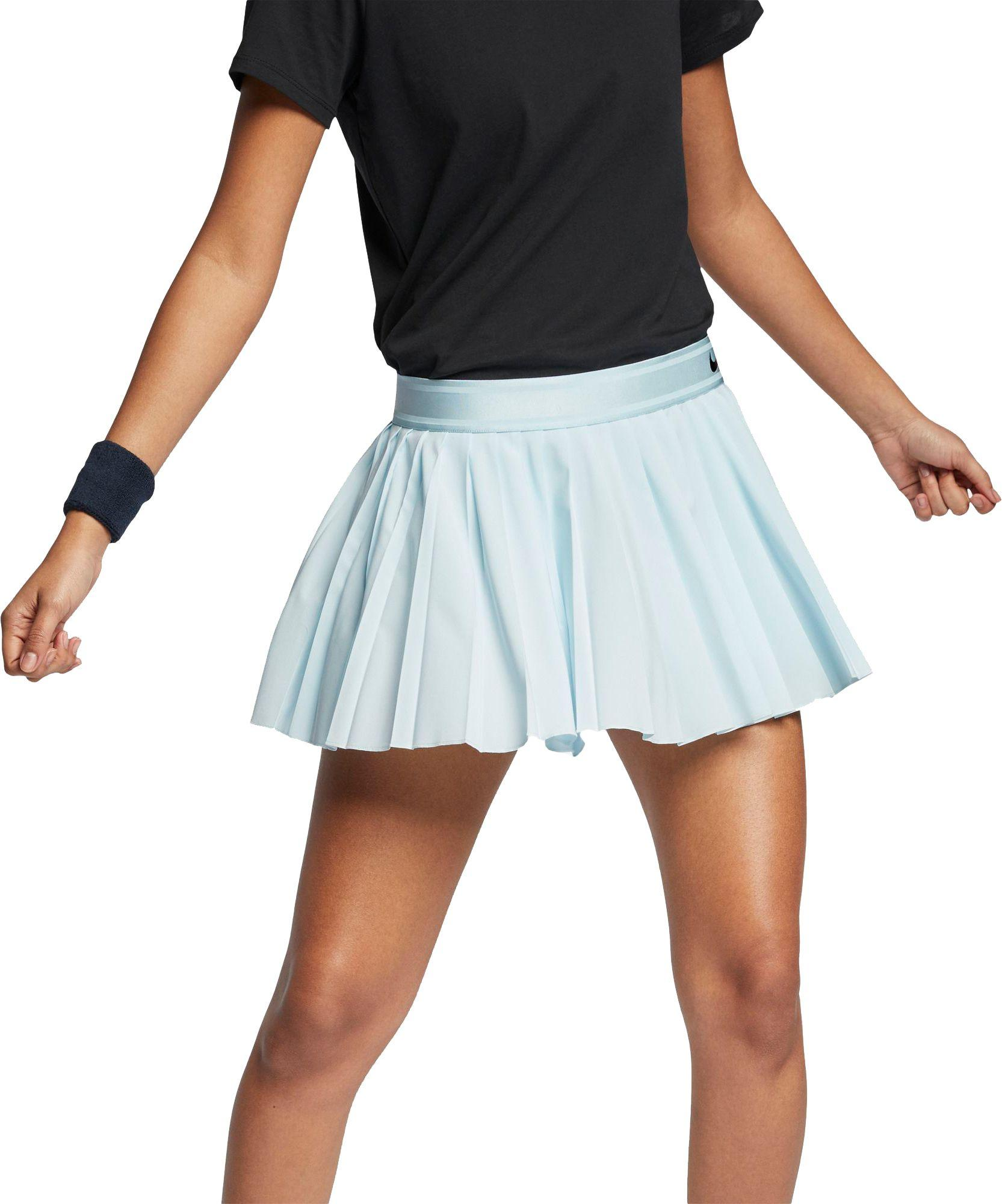 d58d64511 Lyst - Nike Court Victory Tennis Skirt in Blue