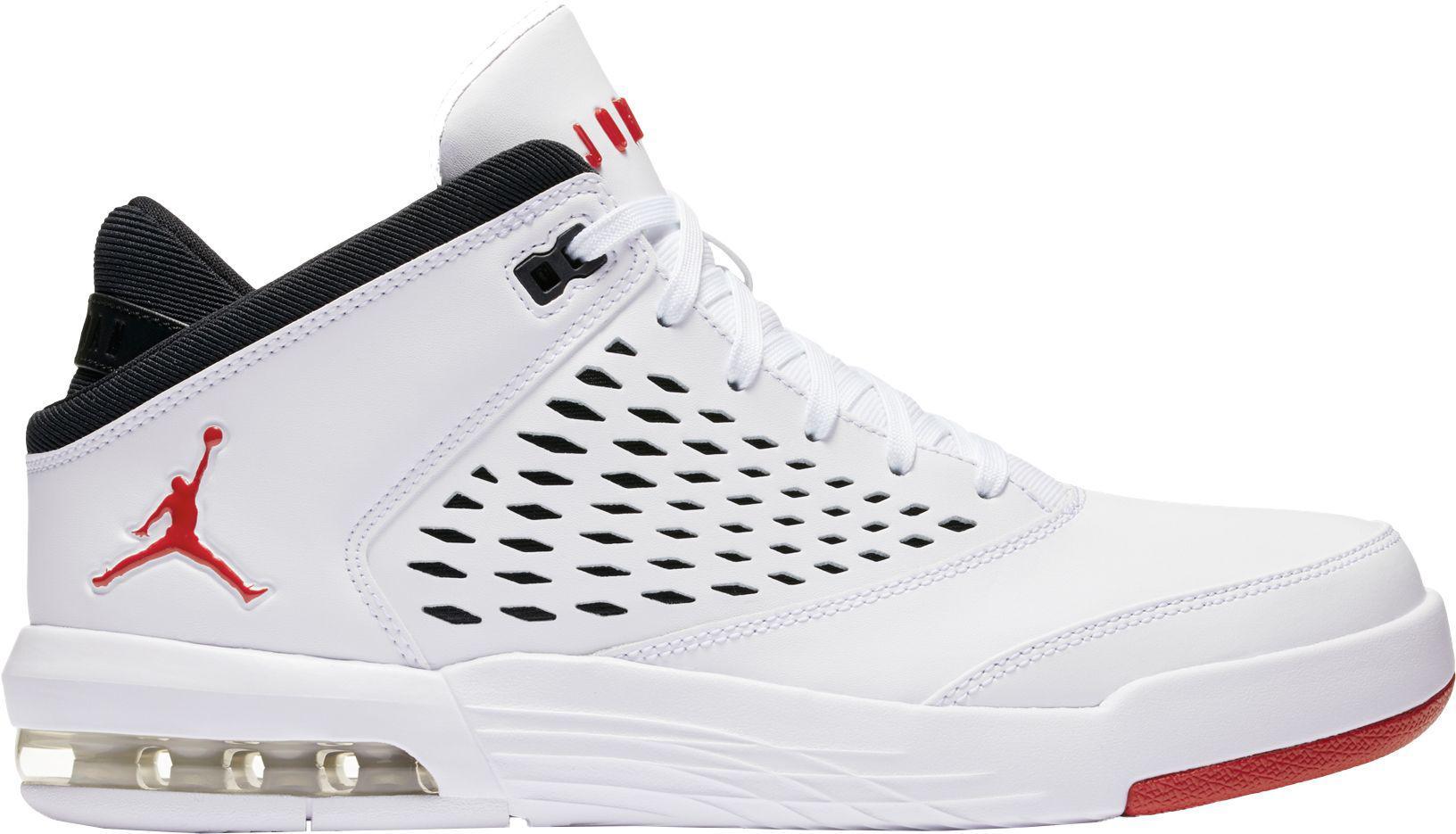 ee45fb6e54db66 Lyst - Nike Flight Origin 4 Basketball Shoes in White for Men