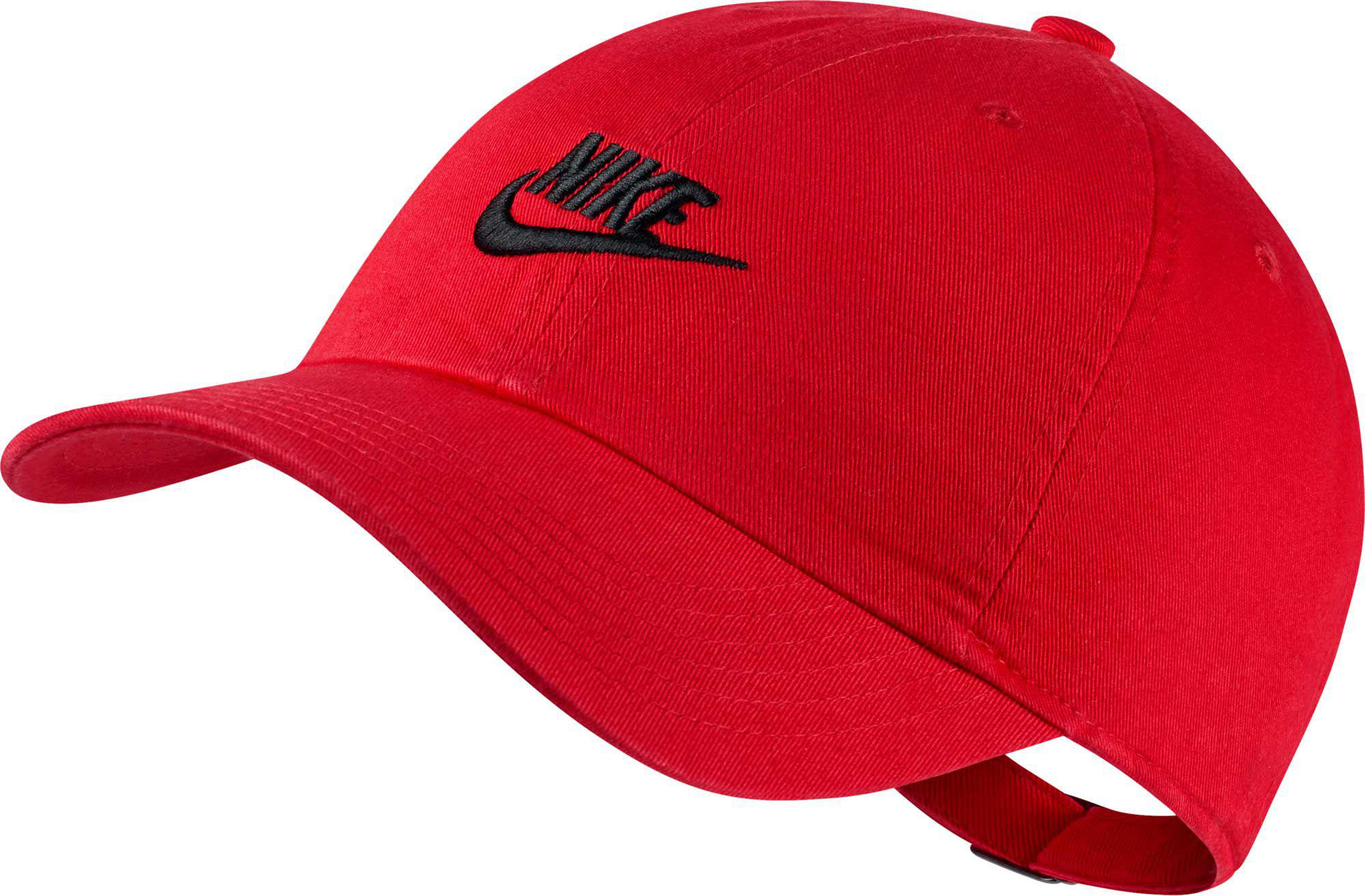 61237d437a6 Nike - Red Oys  Heritage86 Futura Adjustable Hat for Men - Lyst. View  fullscreen