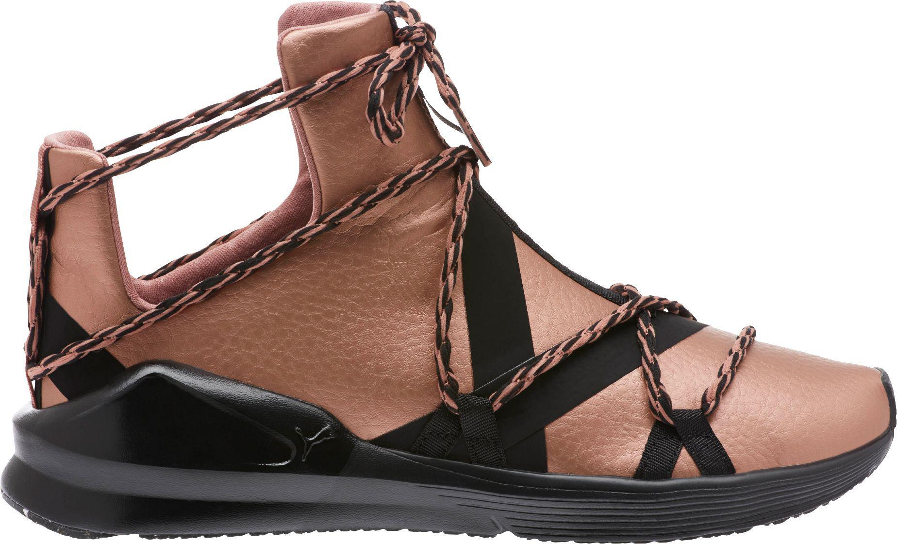 76e48c07eba ... Training Shoes  authorized site d1235 13efb PUMA. Womens Pink Fierce  Rope Copper Shoes ...