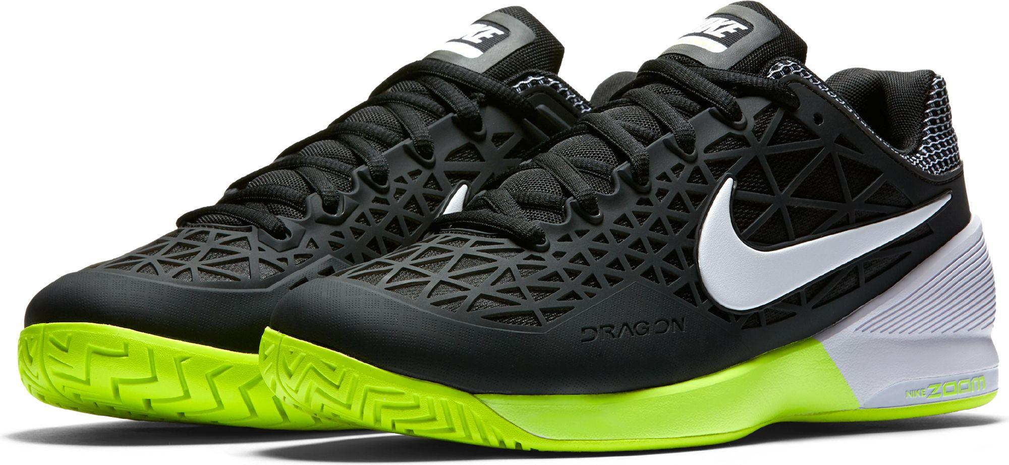 e2a96cb879ed94 Lyst - Nike Zoom Cage 2 Tennis Shoes in Black for Men