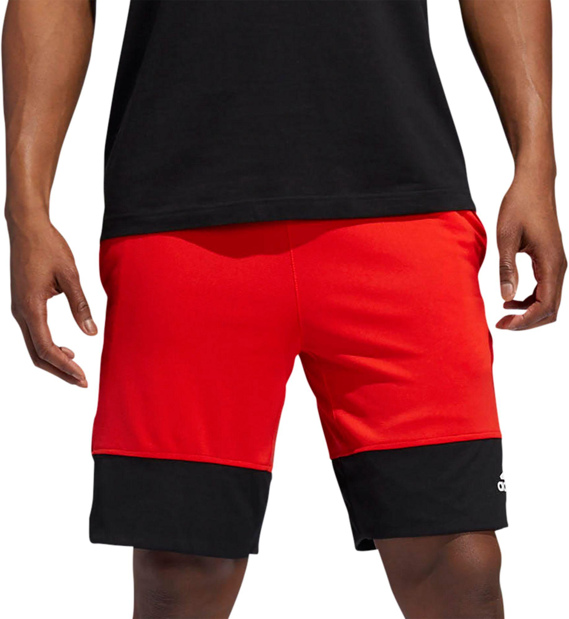 a05470f580 Adidas - Red Pro Madness Basketball Shorts for Men - Lyst. View fullscreen