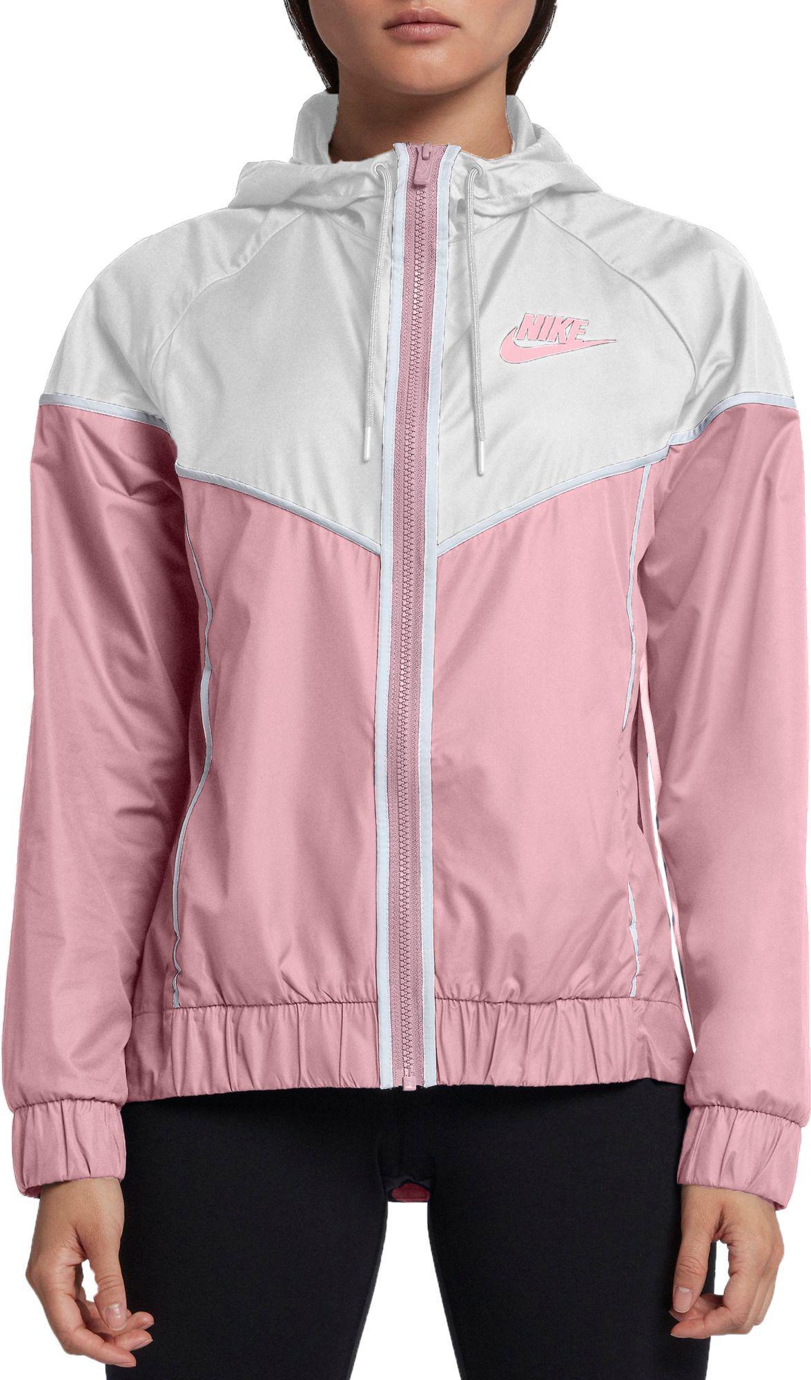 Lyst - Nike Sportswear Windrunner Jacket in Pink e0d4a3c81