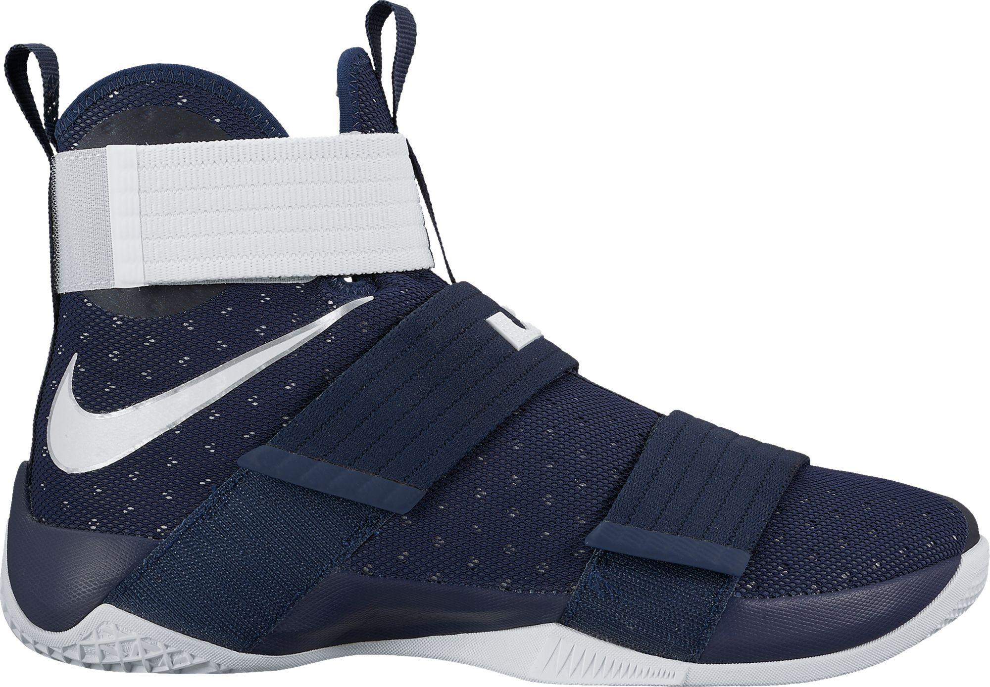 801fc3bad0f ... 50% off lyst nike zoom lebron soldier x basketball shoes in blue for men  932cb