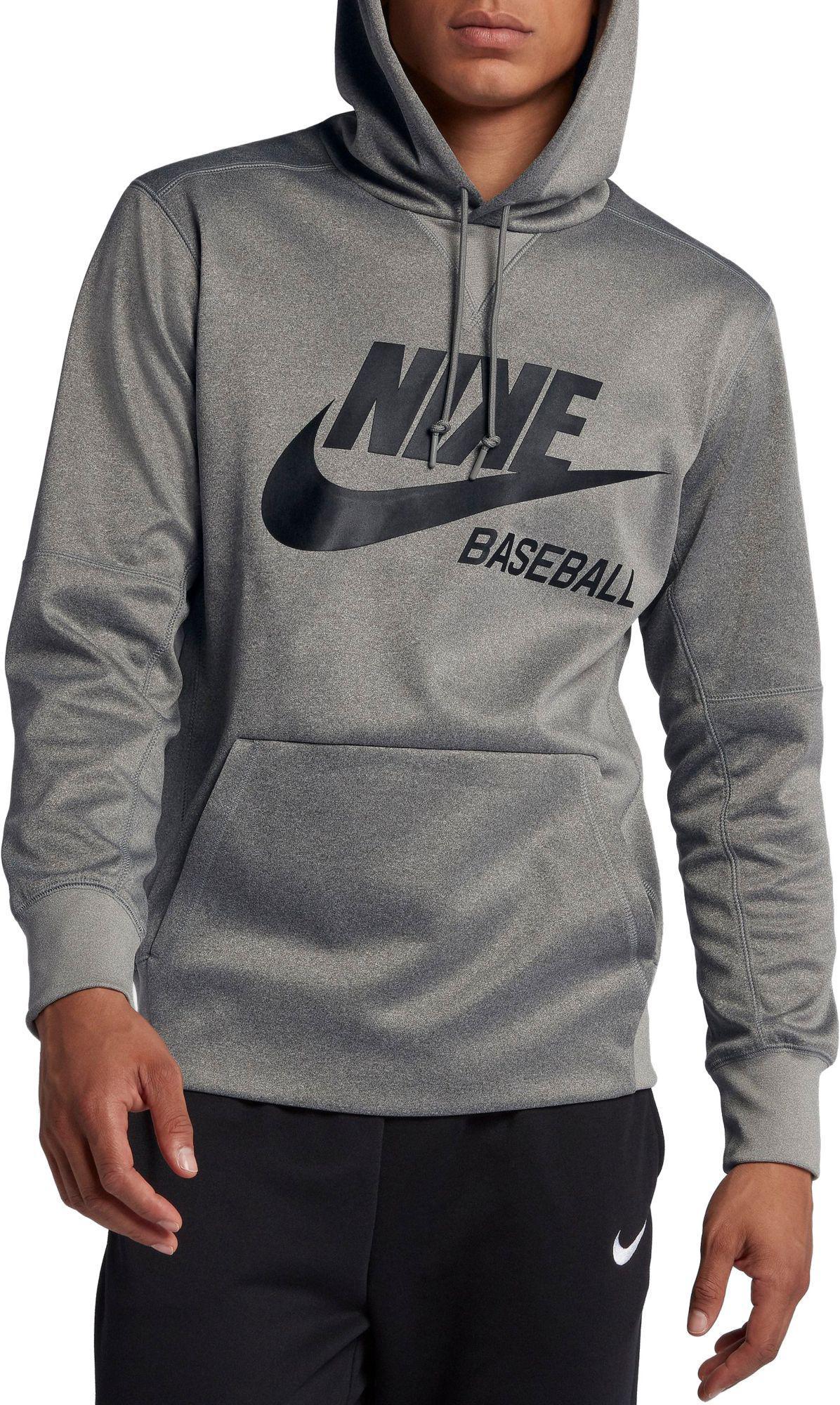 8e1e11492ed Nike. Men s Gray Aseball Pullover Hoodie.  55 From Dick s Sporting Goods