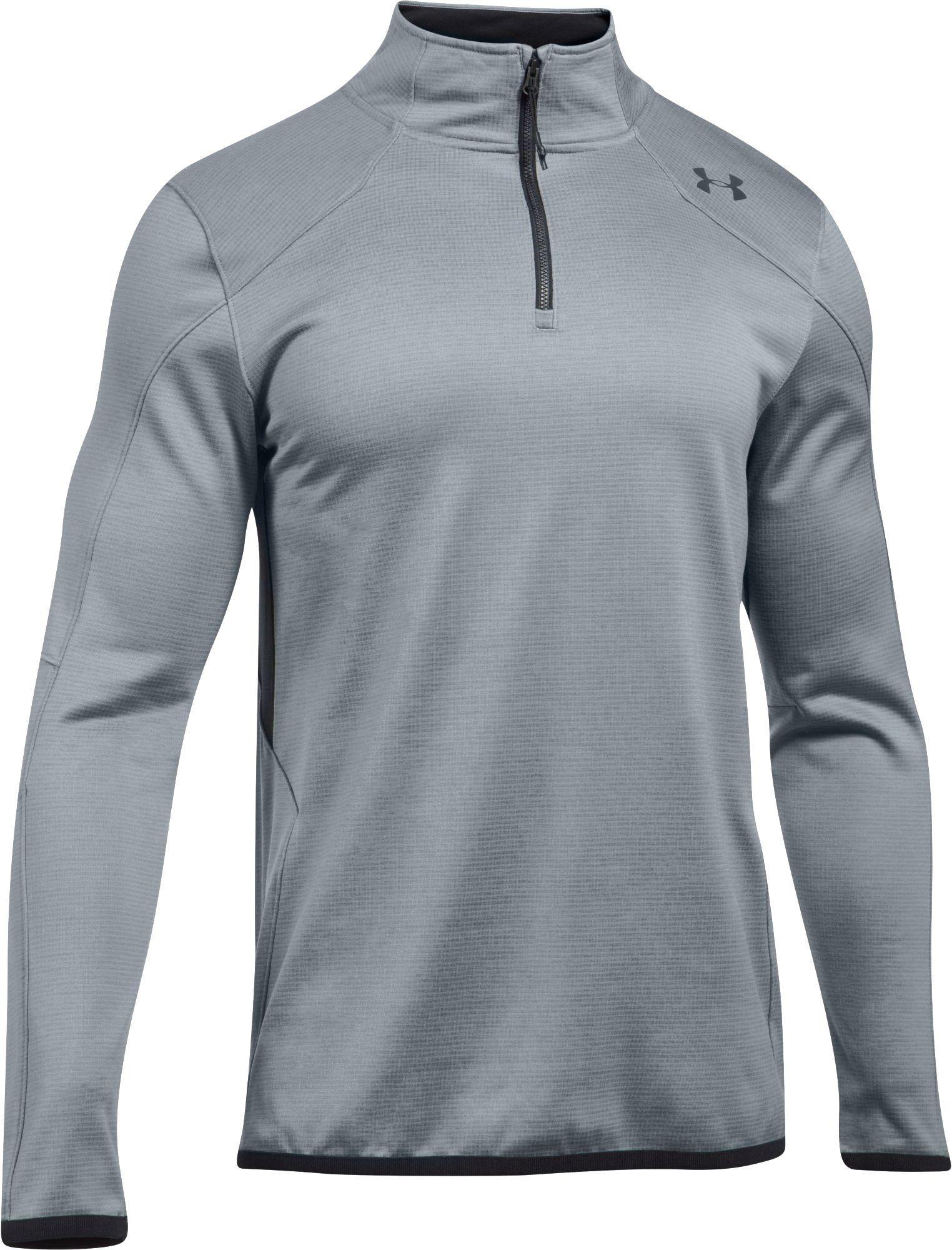a693f644c6c Lyst - Under Armour Coldgear Reactor 1 4 Zip Long Sleeve T-shirt in ...