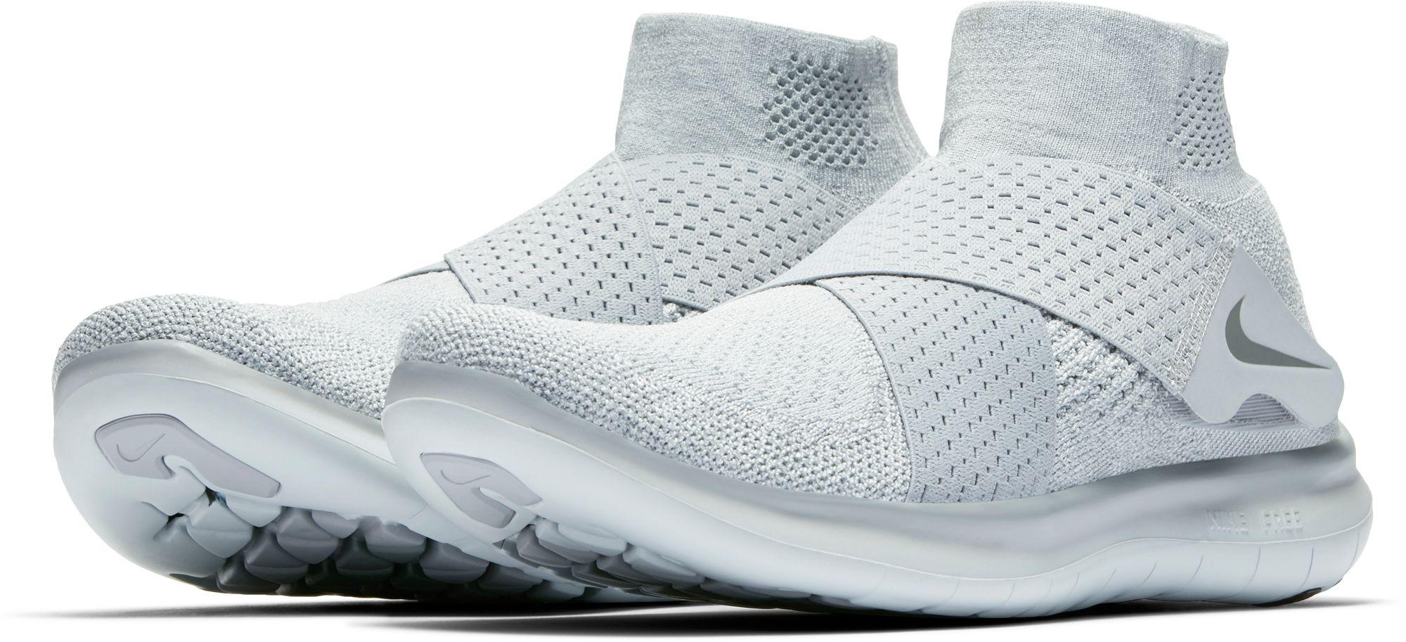 ad99f5a08f095 Lyst - Nike Free Rn Motion Flyknit 2 Running Shoes in Gray for Men