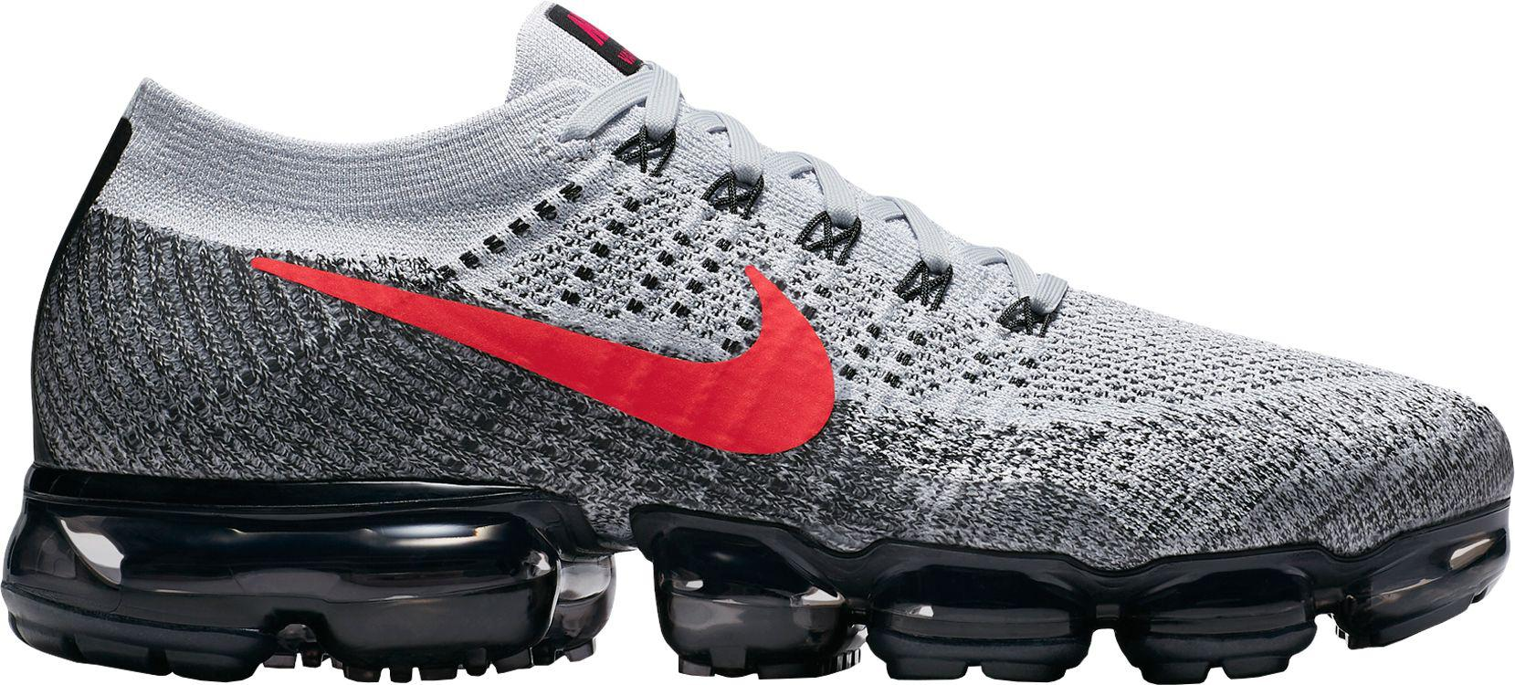 Lyst Nike Air Vapormax Flyknit Running Shoes in Gray for Men