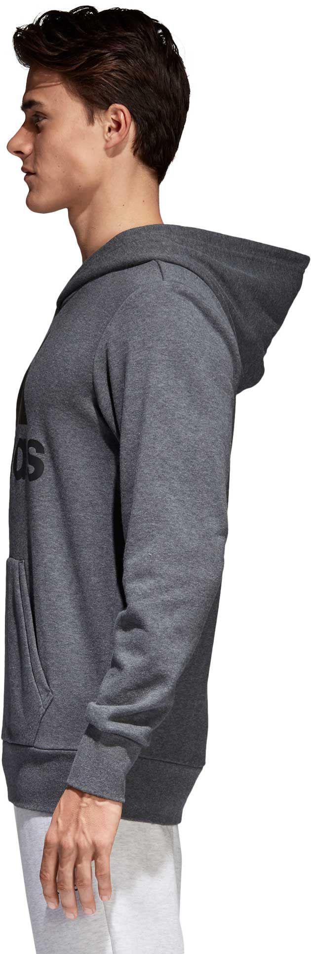 Lyst Adidas Essenziale Lineare Pullover Gli Cappuccio In Grigio Per Gli Pullover Uomini. f72853