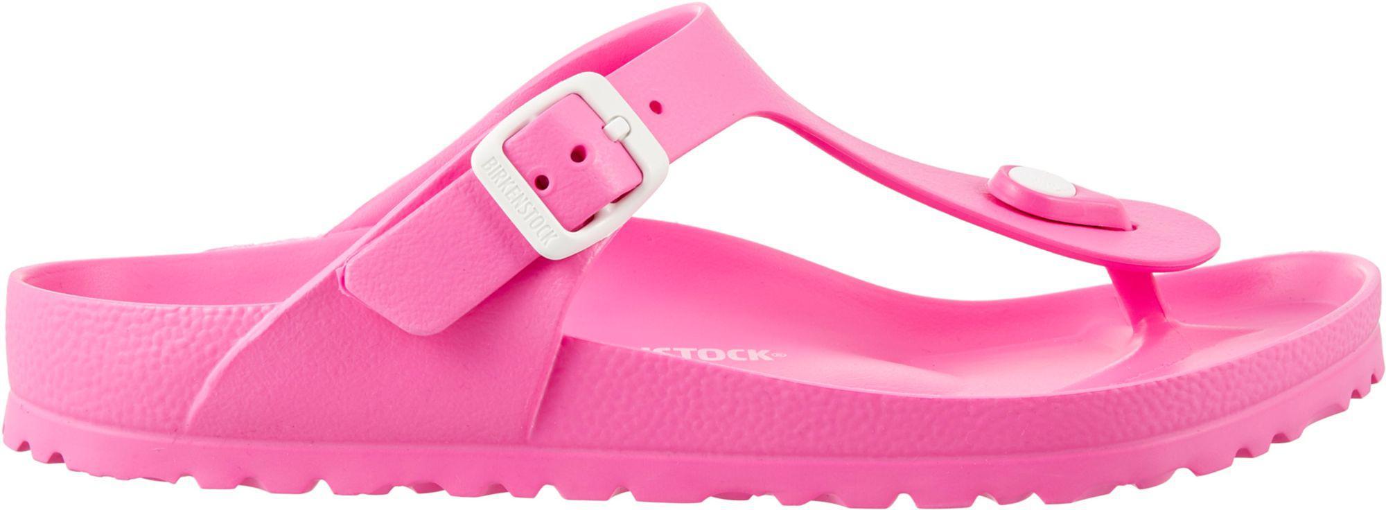 b1c6cfd6d7d9d2 Lyst - Birkenstock Gizeh Essentials Eva Sandals in Pink