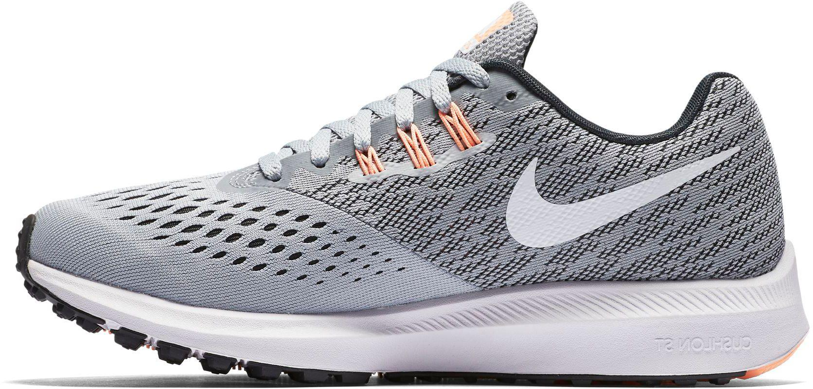 88d47ca310e Lyst - Nike Air Zoom Winflo 4 Running Shoes in Gray