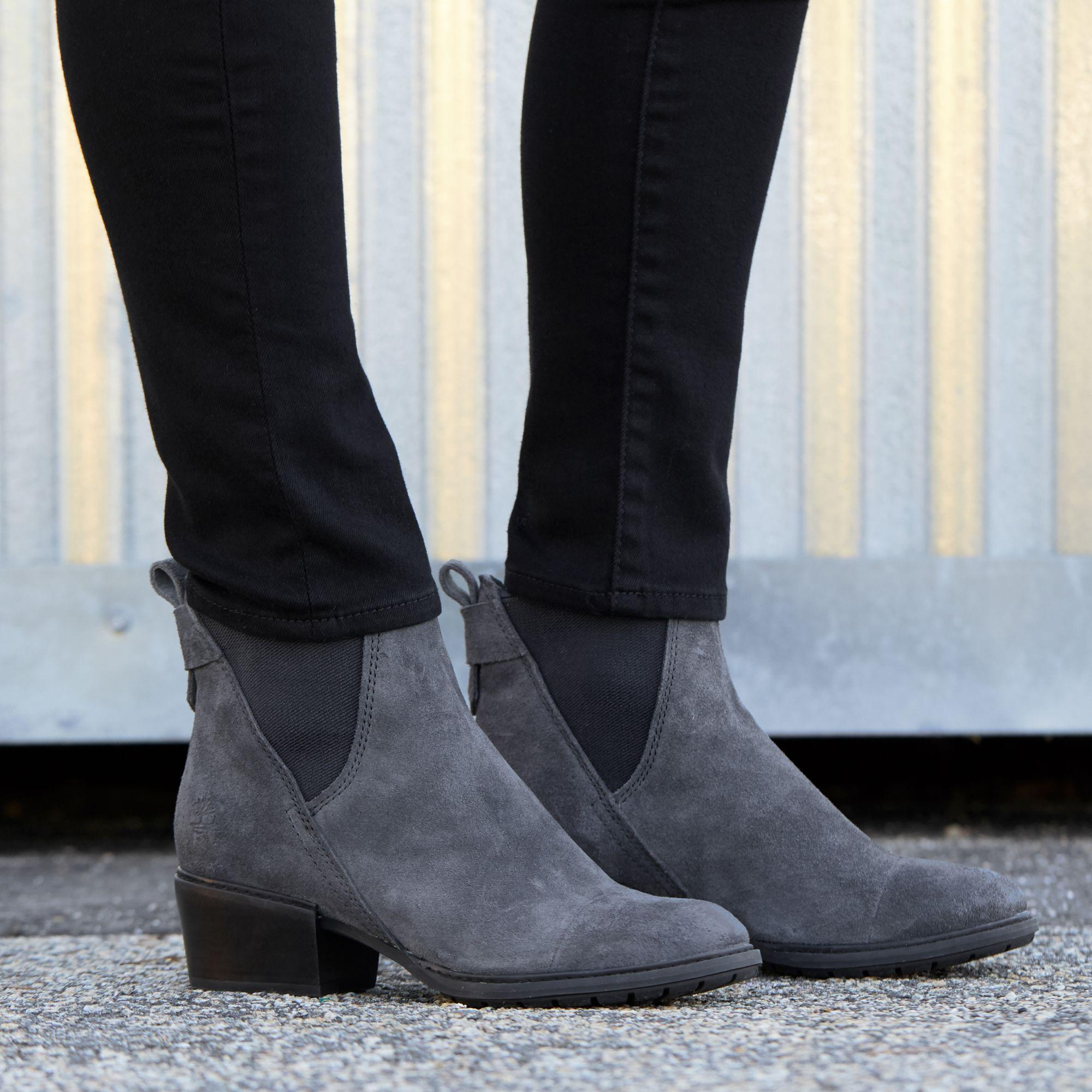 eb534fafeec Lyst - Timberland Sutherlin Bay Chelsea Casual Boots in Gray