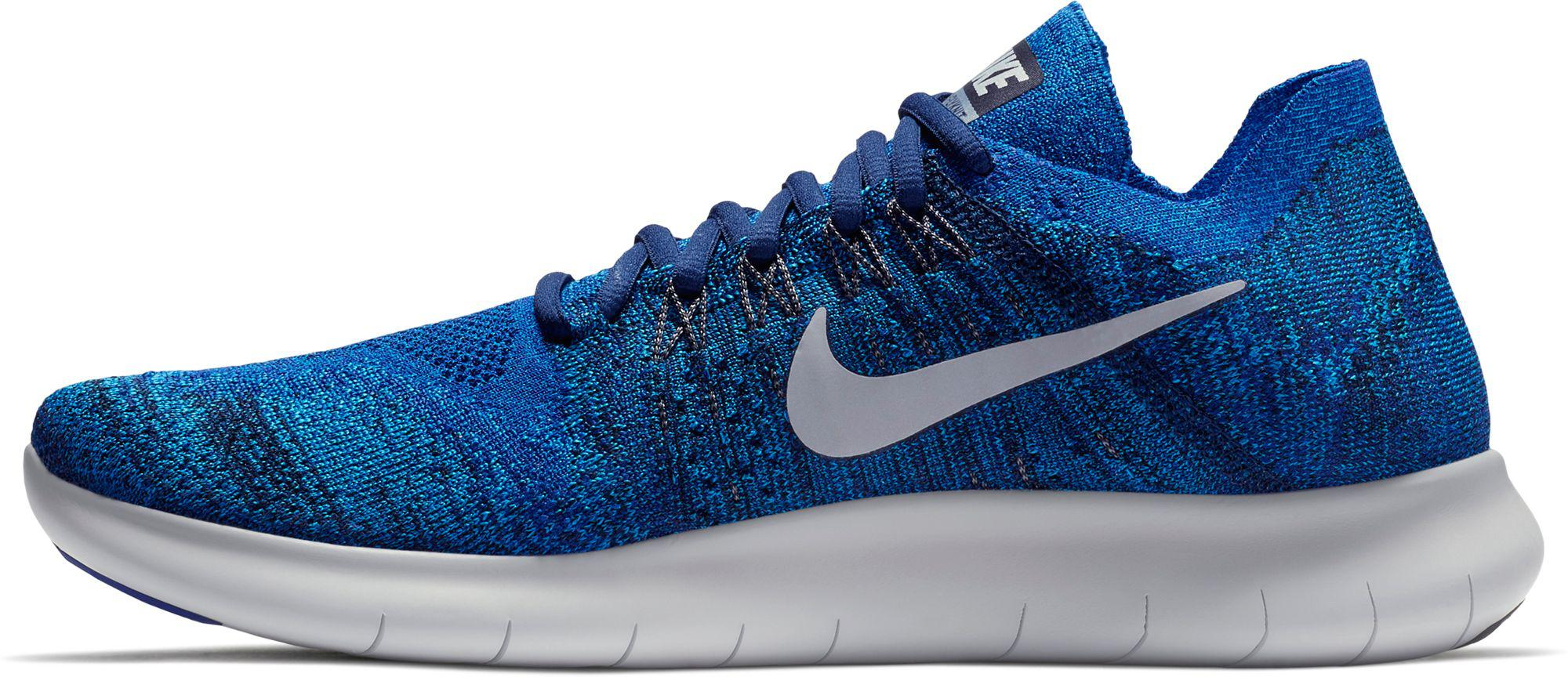 93b1c67efd6 Lyst - Nike Free Rn Flyknit 2017 Running Shoes in Blue for Men