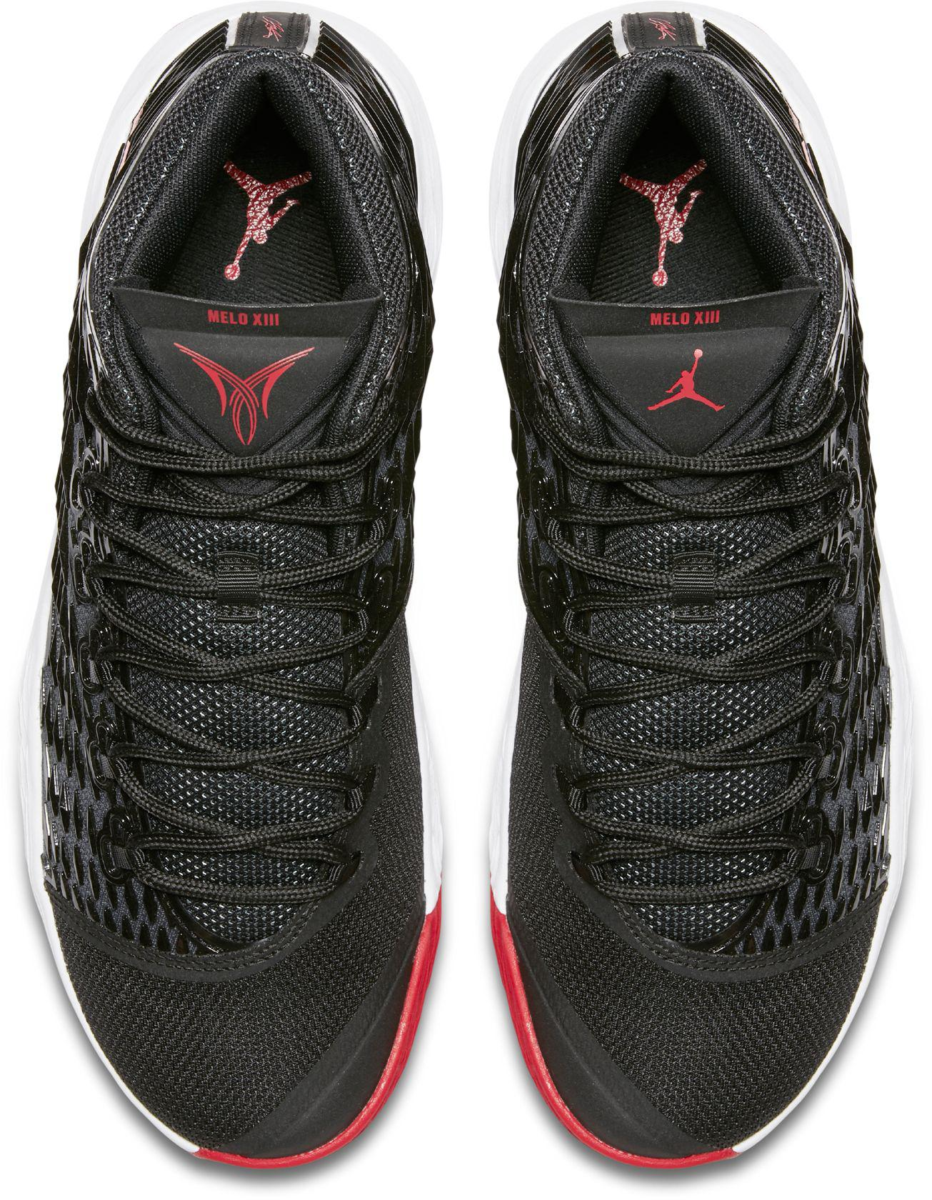 pretty nice f6e38 13ff3 Nike - Black Melo M13 Basketball Shoes for Men - Lyst