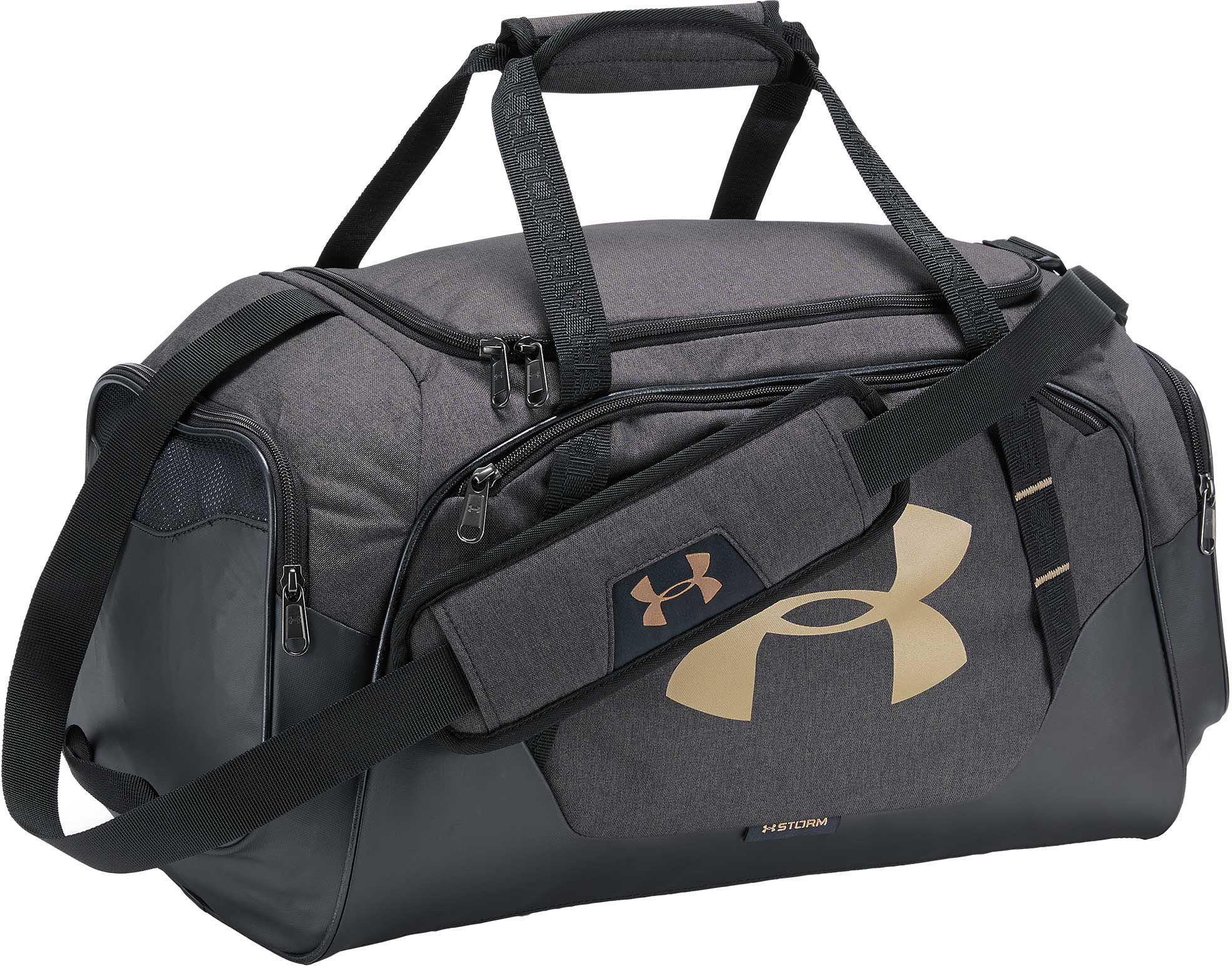 Lyst - Under Armour Undeniable 3.0 Small Duffle Bag in Black for Men 01c74376c2fe4
