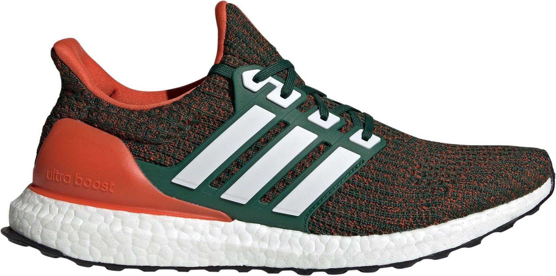 new styles 13e57 65264 Lyst - adidas Miami Hurricanes Ultra Boost Running Shoes in