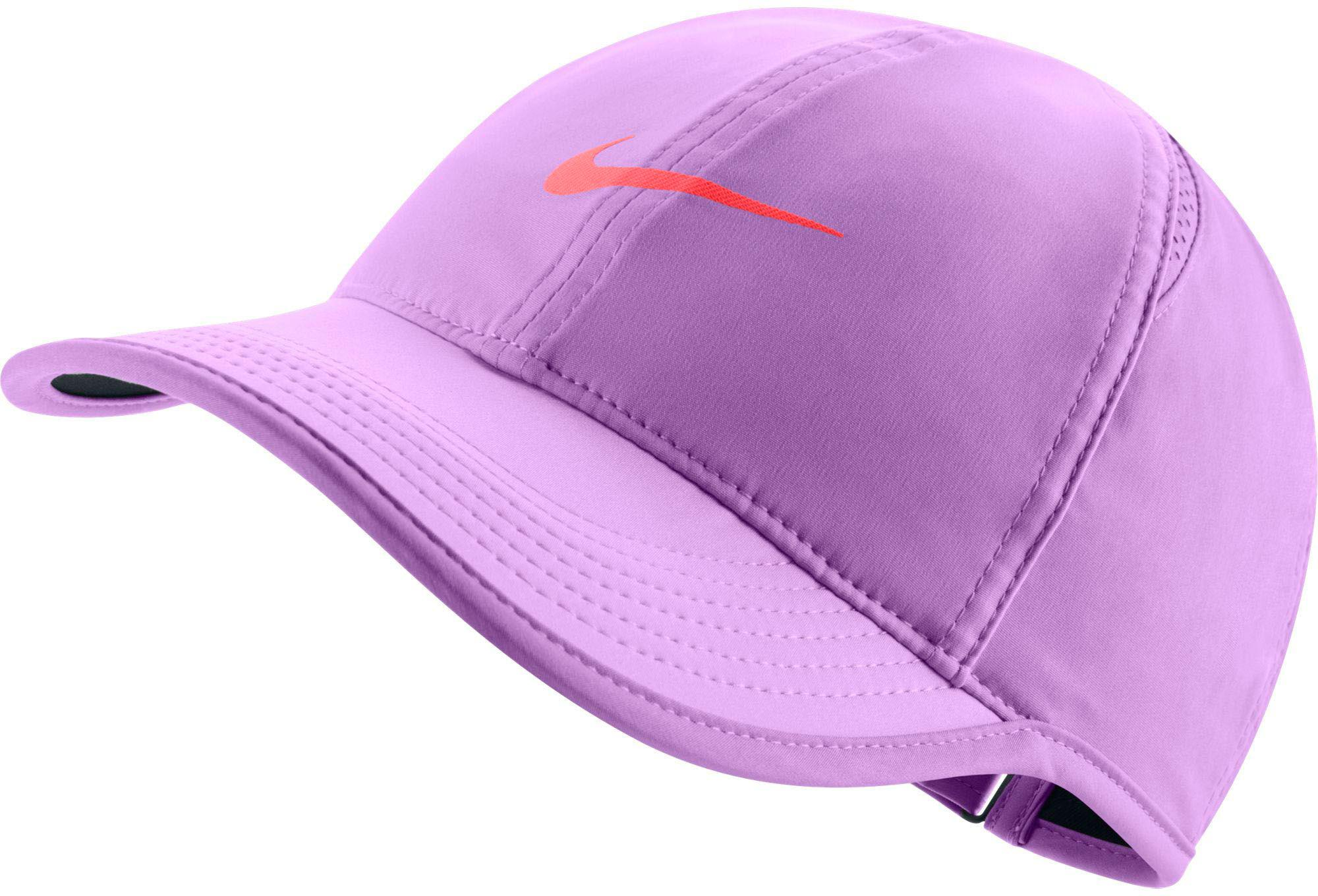 24b4e02c9b3 Lyst - Nike Feather Light Adjustable Hat in Purple