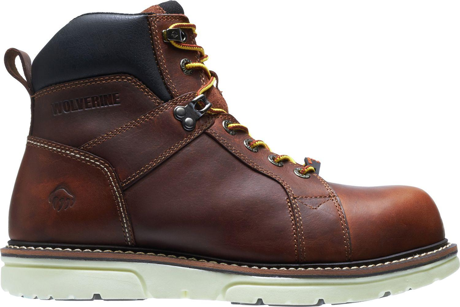 ec6da2ab236 Lyst - Wolverine I-90 Durashocks Wedge 6'' Work Boots in Brown for Men