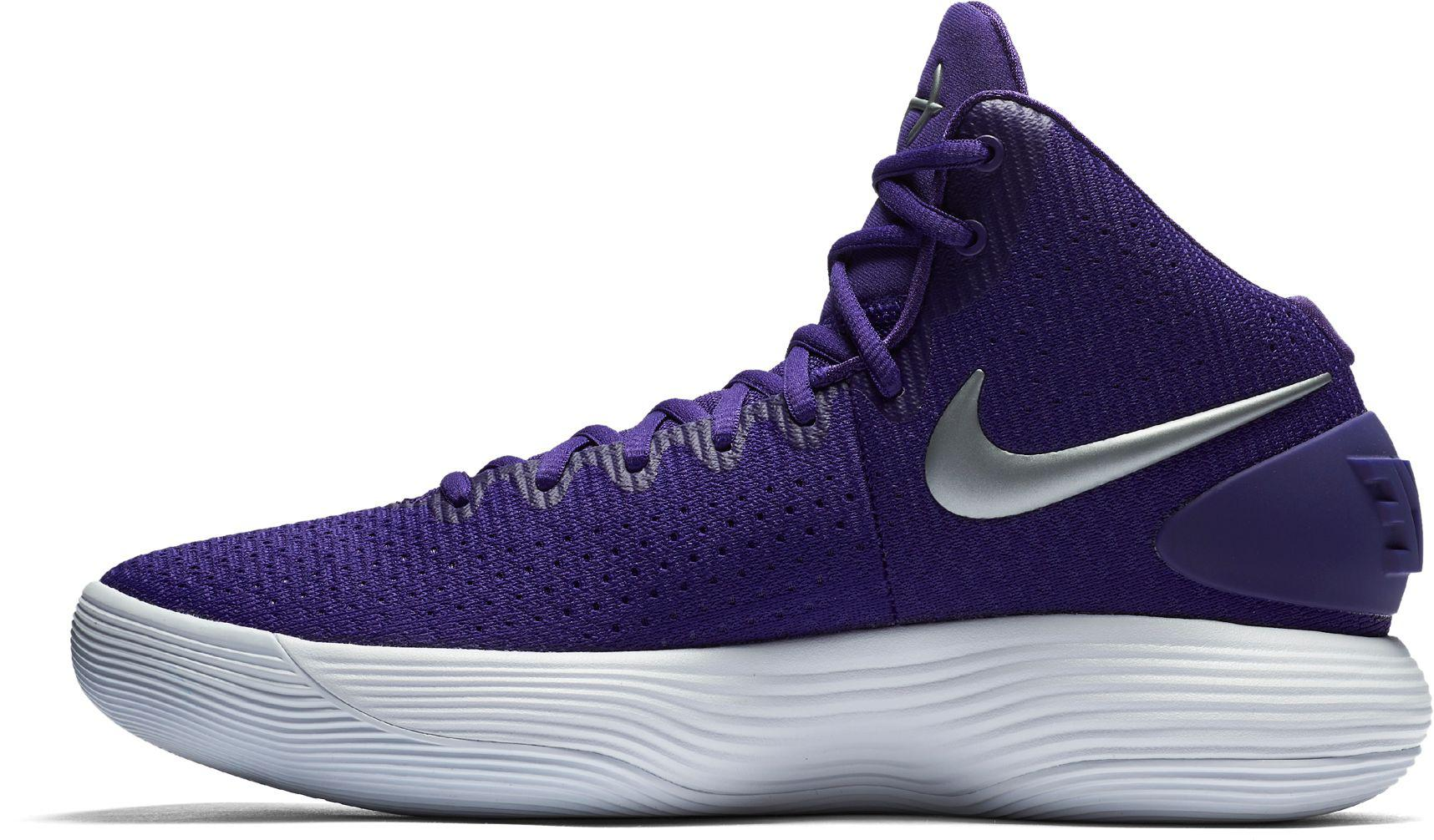 d6f32cd03329ce ... new style nike purple react hyperdunk 2017 basketball shoes for men lyst  1d9ae 38830