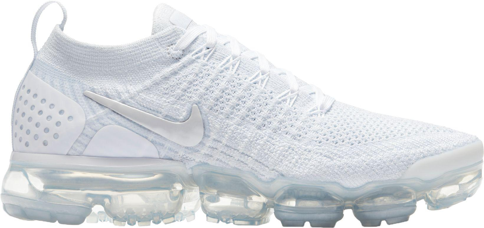 7fb99ee7a855 ... reduced nike white air vapormax flyknit 2 running shoes lyst 18682 2eb23