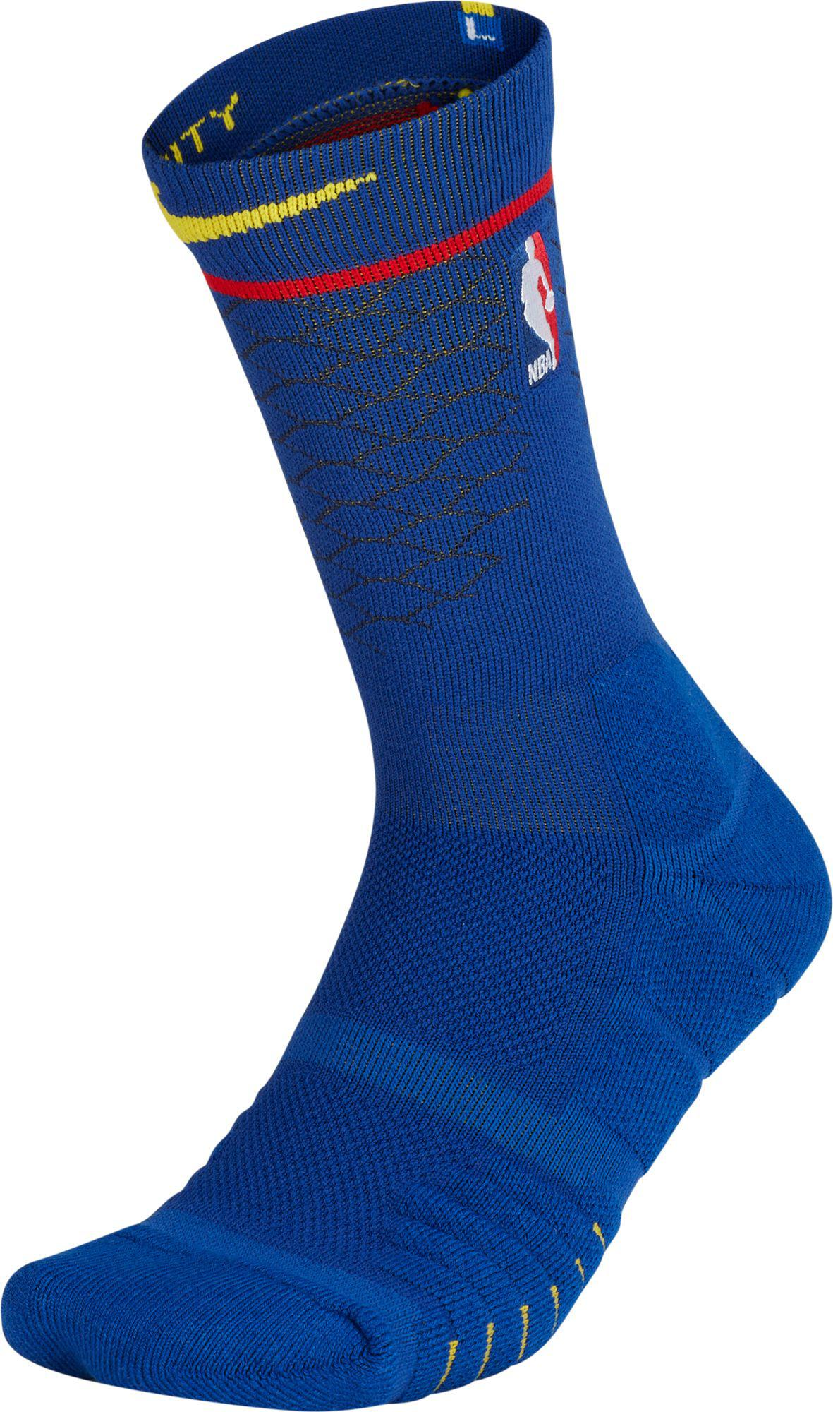 c140a8ef4 Nike - Blue Golden State Warriors City Edition Elite Quick Nba Crew Socks  for Men -. View fullscreen