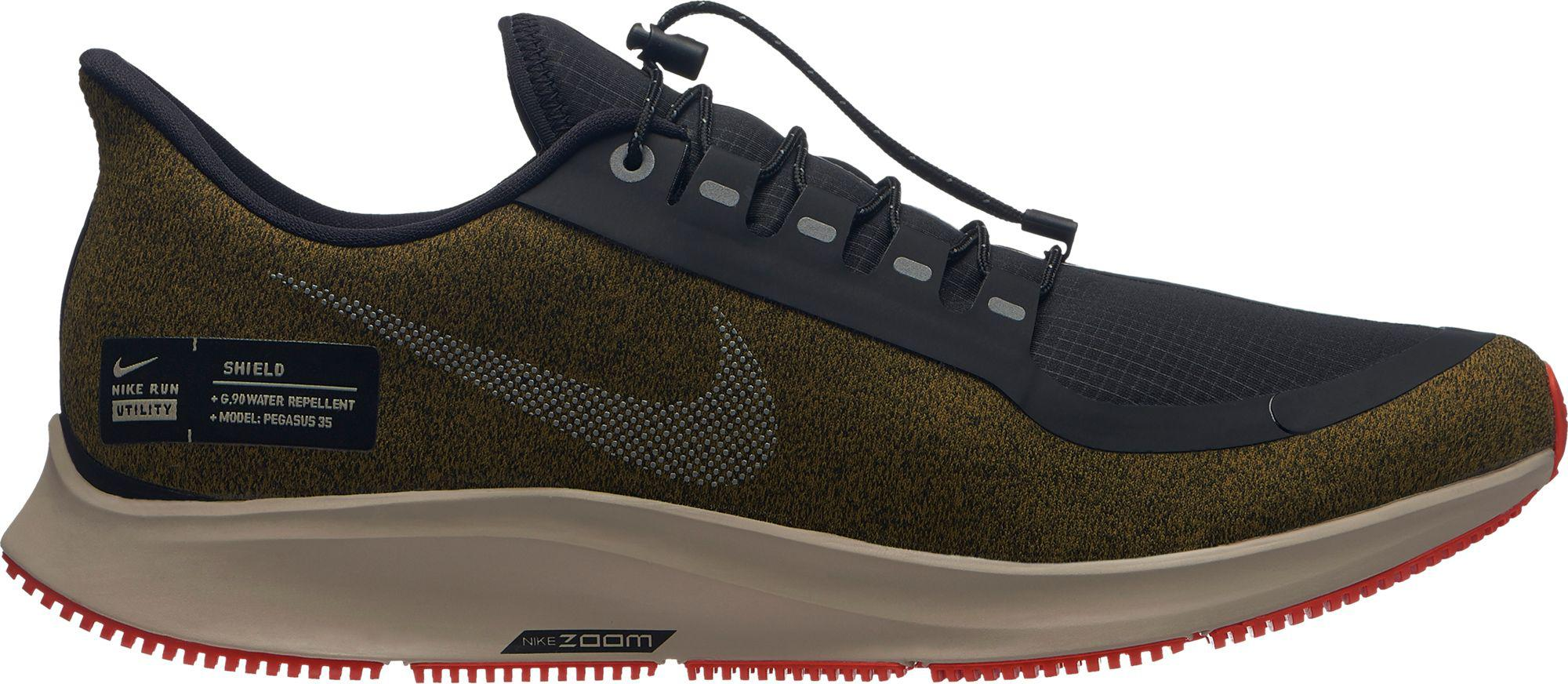 aab25cd719e0a Lyst - Nike Air Zoom Pegasus 35 Shield Running Shoes in Black for Men