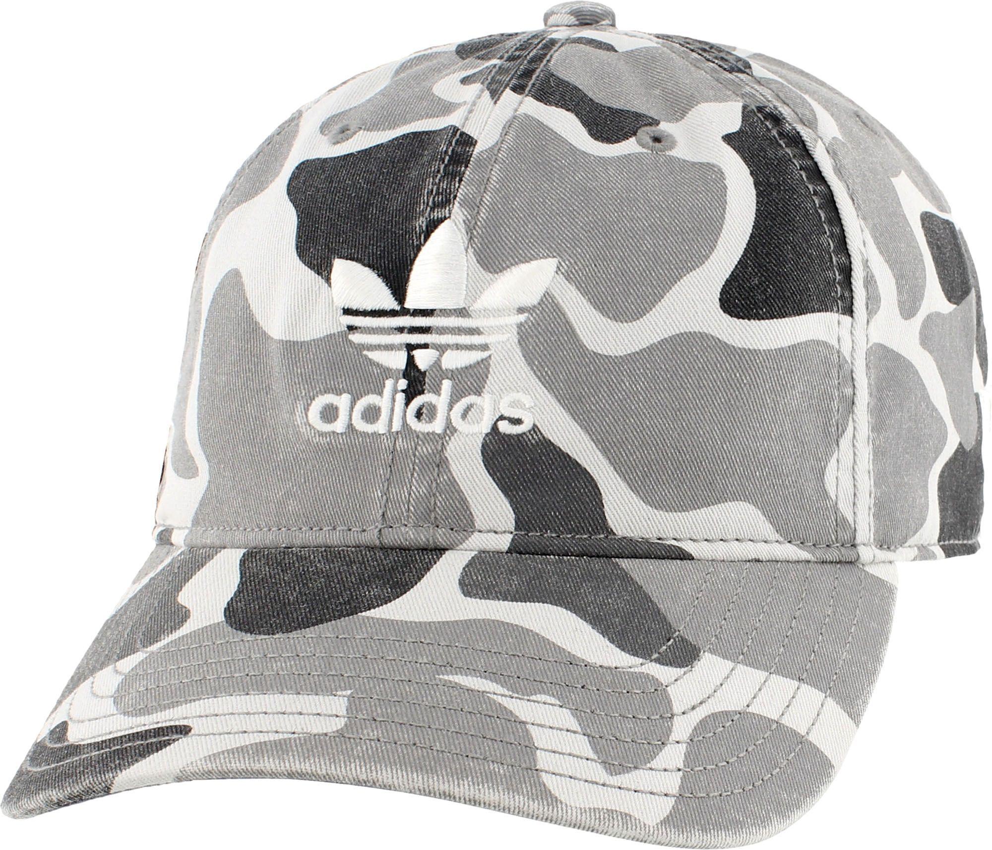 d1a0010183b Lyst - adidas Originals Relaxed Cotton Baseball Cap in Gray for Men