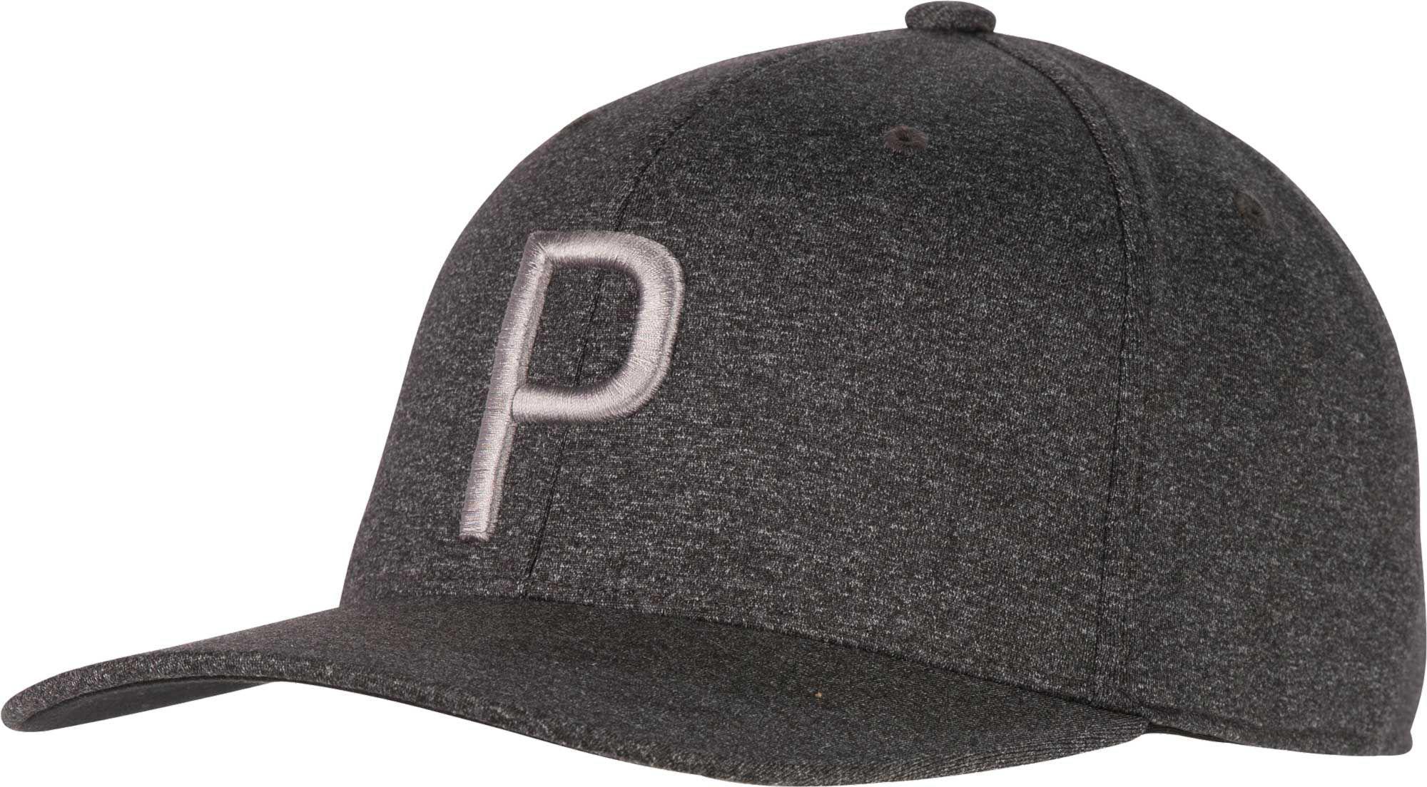 fb070bcd311 PUMA - Black P 110 Snapback Golf Hat for Men - Lyst. View fullscreen
