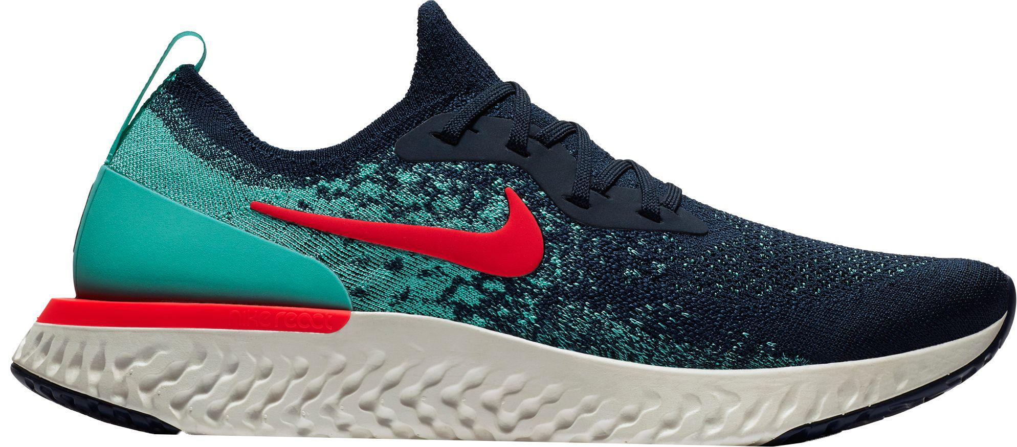 bdf781592fb Lyst - Nike Epic React Flyknit Running Shoes in Blue for Men