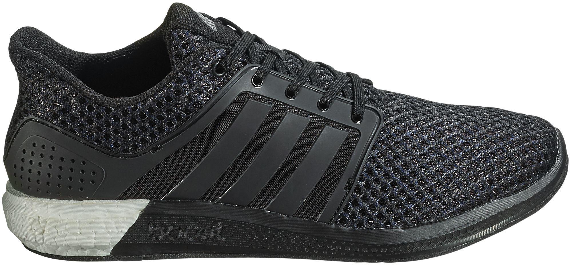 lyst adidas originali solare spinta scarpe da corsa in nero per gli uomini.