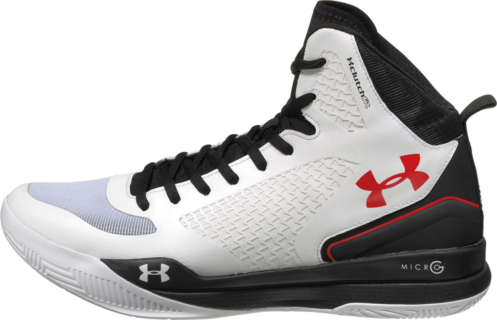 5f28e2ead007 denmark lyst under armour clutchfit lightning basketball shoes in black  67b46 11095