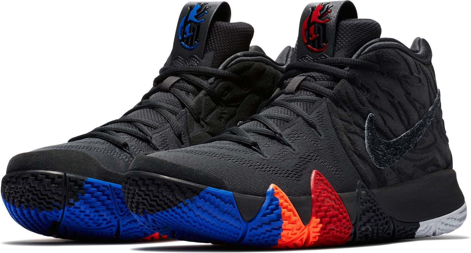 lowest price a7351 e4656 Nike - Black Kyrie 4 Basketball Shoes for Men - Lyst