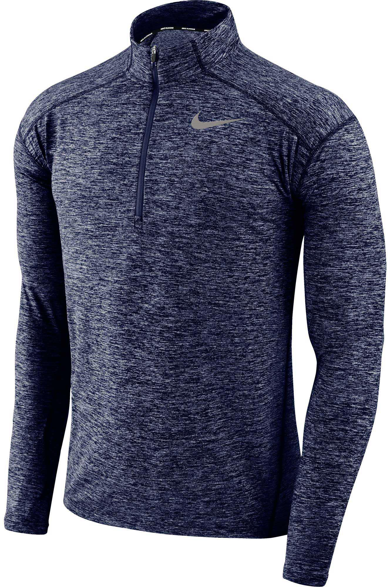 adcab4b48 Nike - Blue Dry Element Half Zip Long Sleeve Running Shirt for Men - Lyst