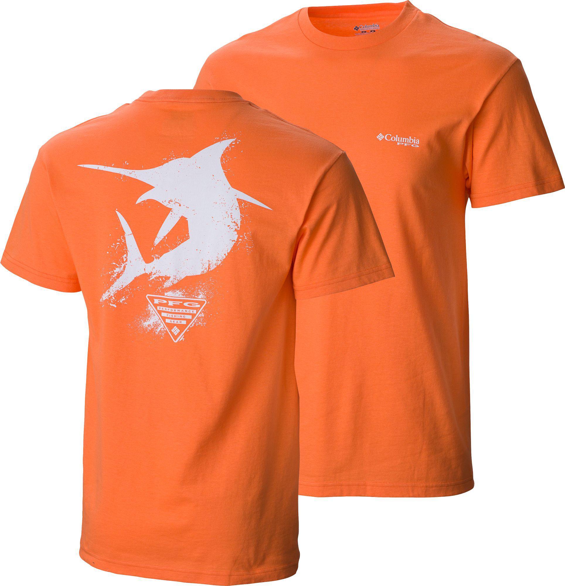 5c0923840d0 Columbia Pfg Silhouette Series Marlin T-shirt in Orange for Men - Lyst