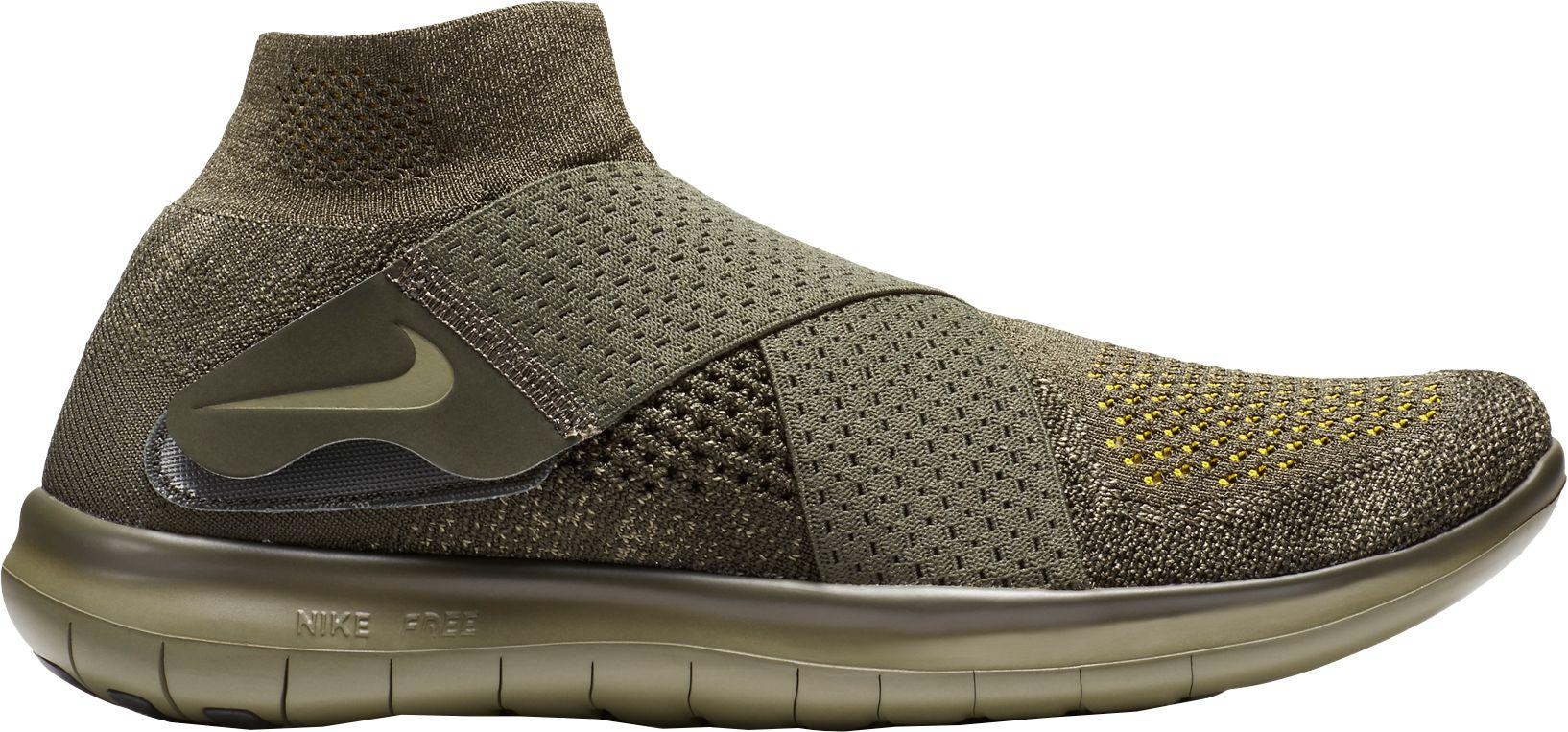 quality design abae4 50cc7 Nike Free Rn Motion Flyknit 2 Running Shoes in Green for Men - Lyst