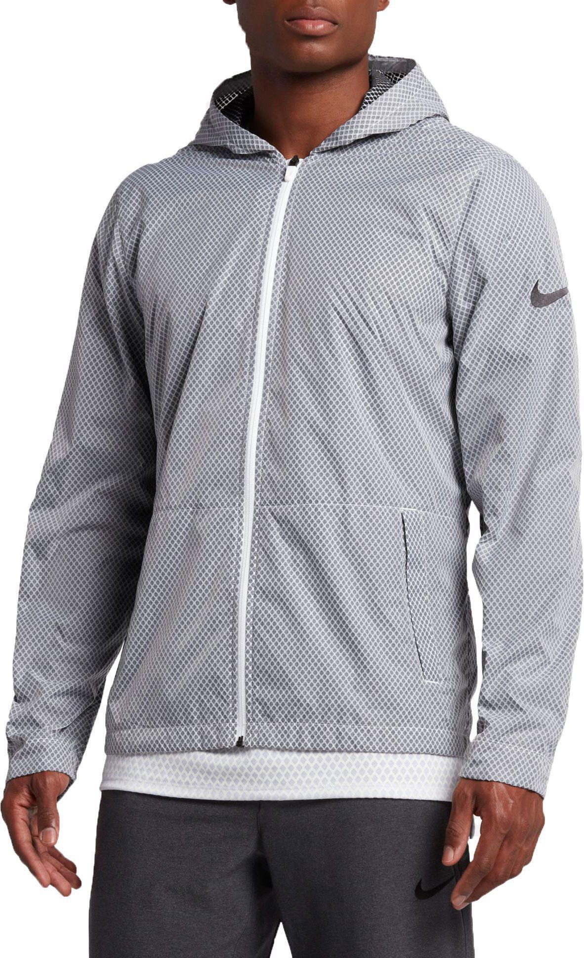 Nike Hyper Elite Men's Basketball Jackets Black/White