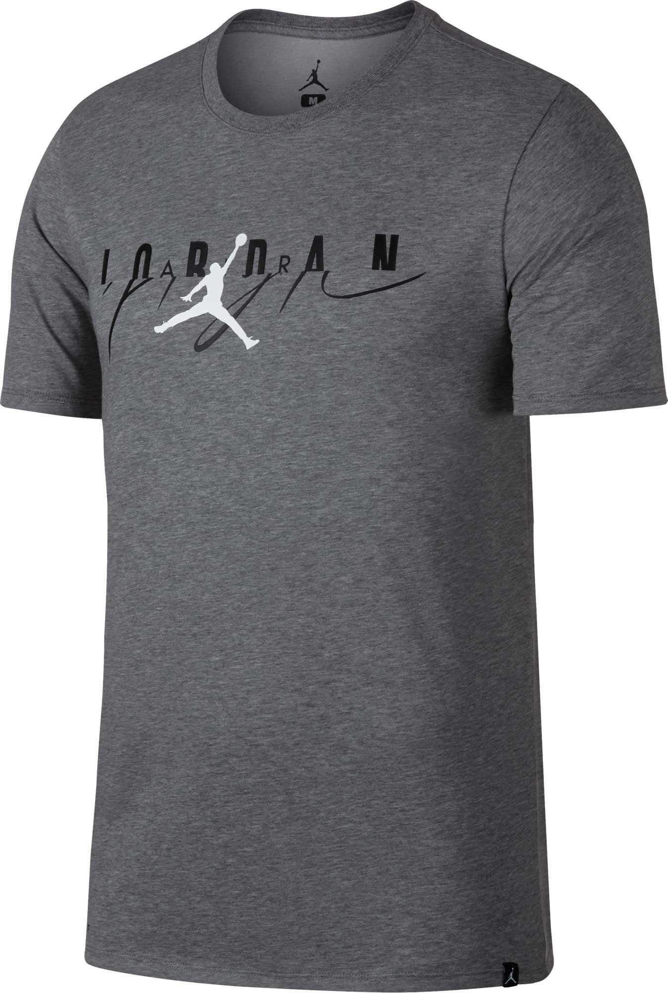 9840cee951b963 Lyst - Nike Jordan Flight Mashup Graphic Tee in Gray for Men