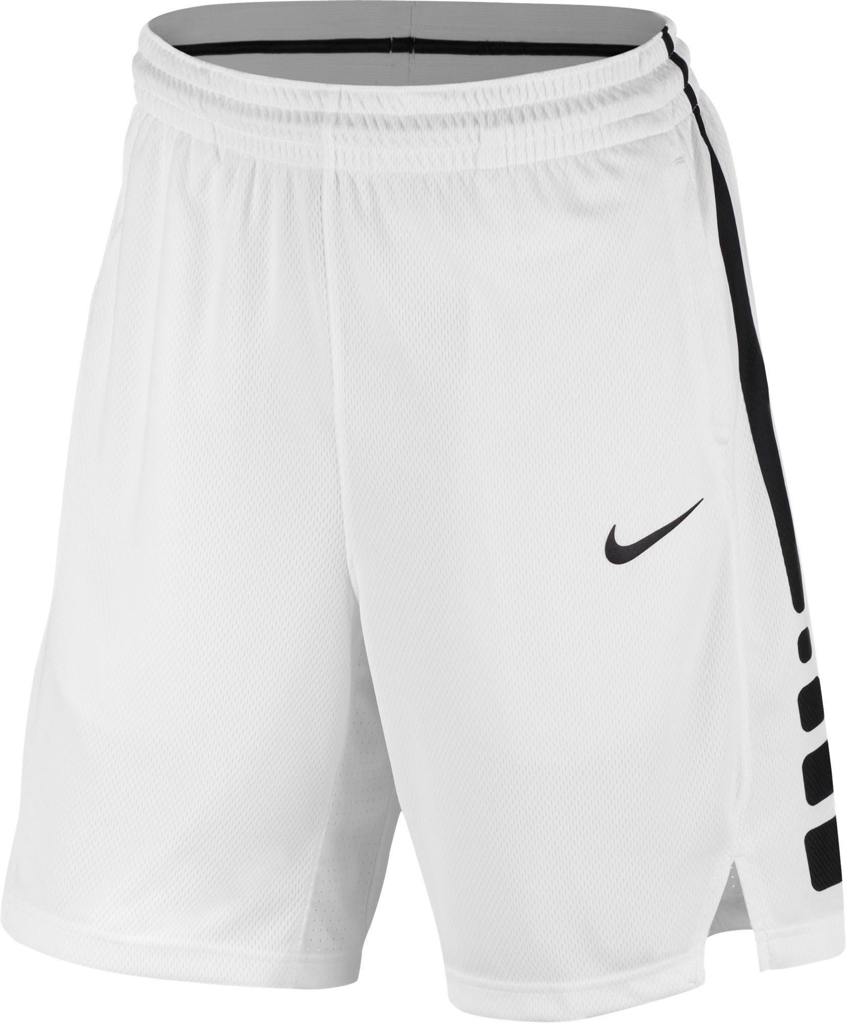 ba3f781c1aa3 Nike - White Elite Stripe Basketball Shorts for Men - Lyst. View fullscreen