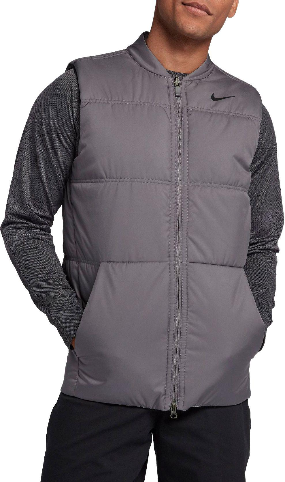 48a233fa3736 Lyst - Nike Reversible Insulated Golf Vest in Gray for Men - Save 26%