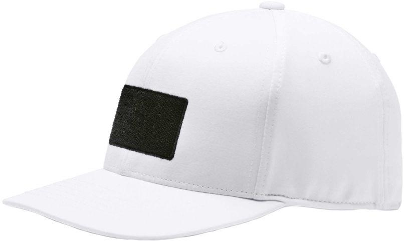 e9d38b22242 Lyst - Puma Utility Patch 110 Snapback Golf Cap in Black for Men