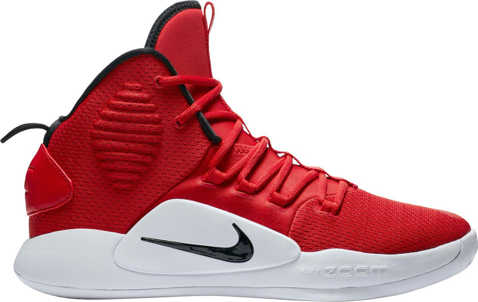 new arrival 2bb86 603f8 Nike - Red Hyperdunk X Mid Tb Basketball Shoes for Men - Lyst