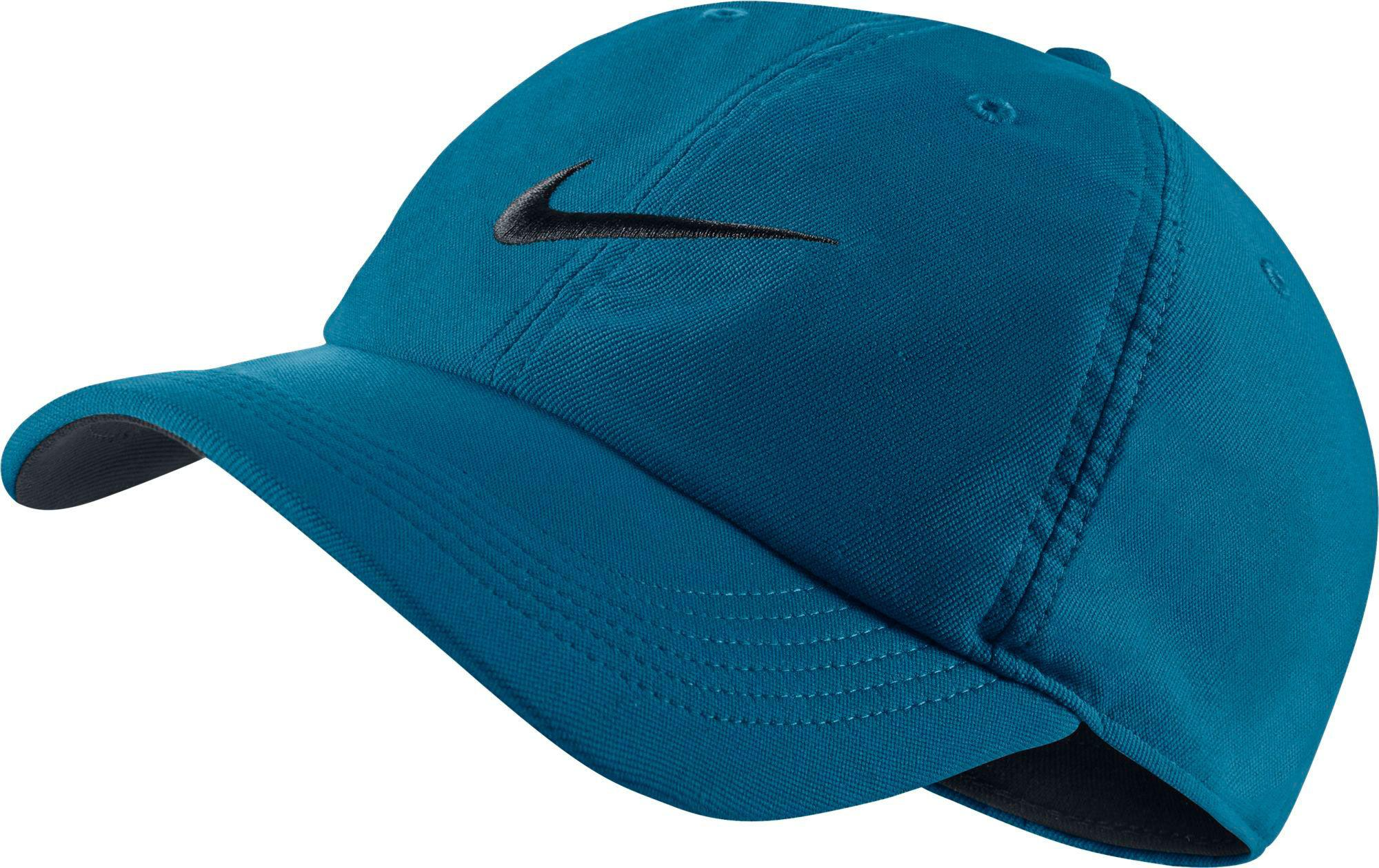 huge sale 9b8ab 92ce1 Nike. Men s Blue Twill H86 Adjustable Hat.  21  19 From Dick s Sporting  Goods