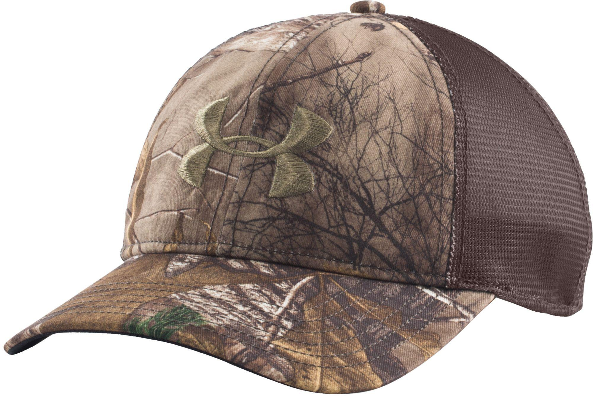 07617204745 ... coupon code lyst under armour mesh back camo hat in brown for men fe937  041b4