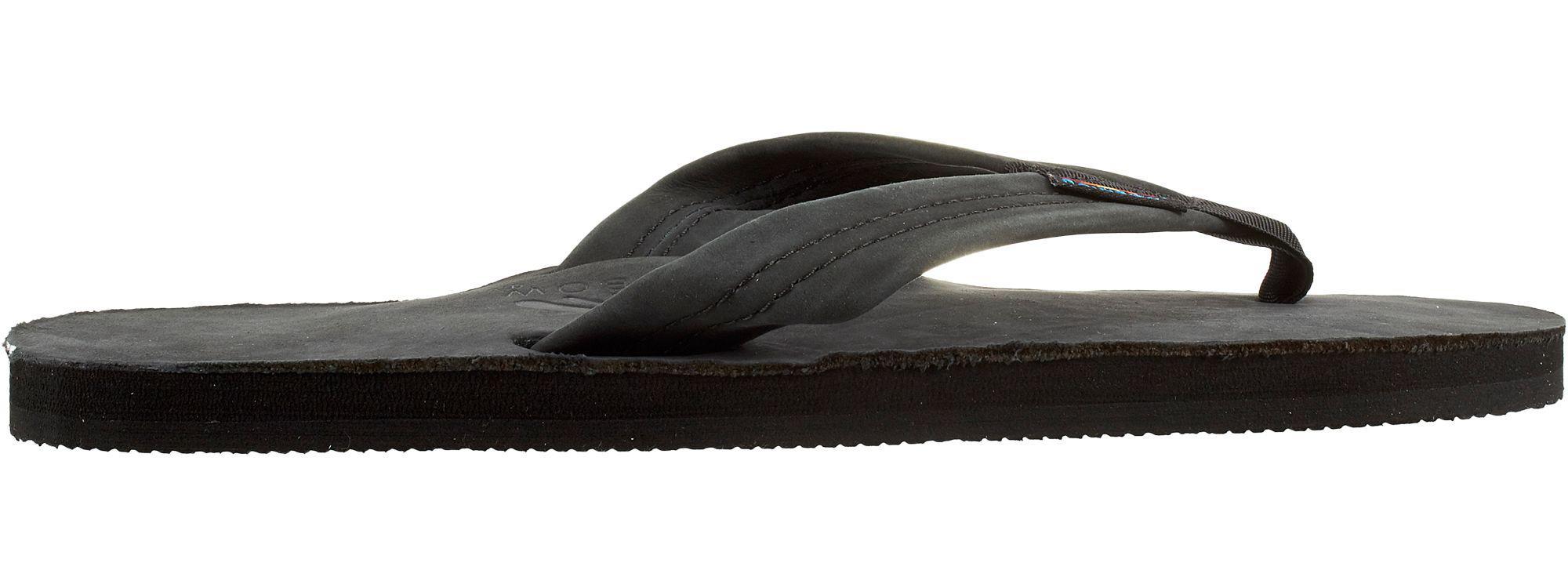 e3cba10eb49c Lyst - Rainbow Sandals Leather 301 Flip Flops in Black for Men