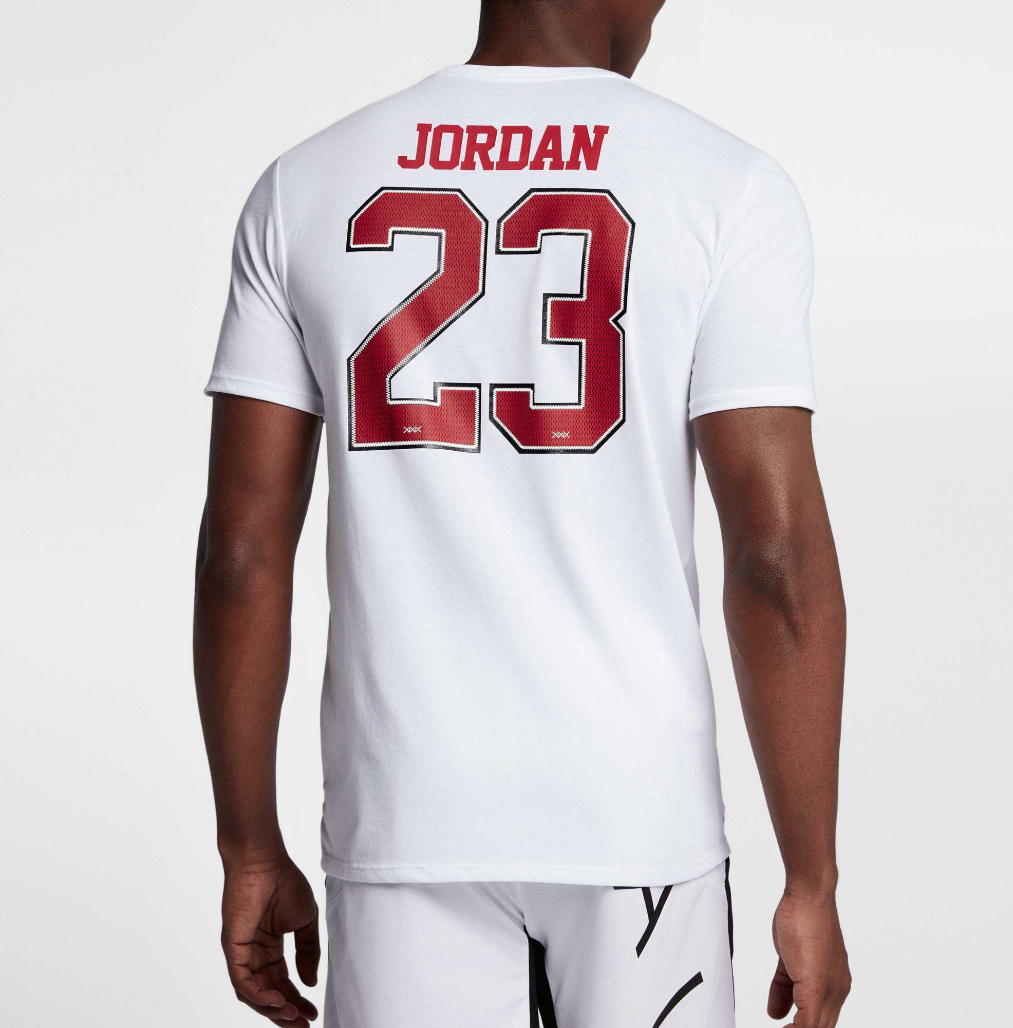 Jordan - White 23 Game Shoe Graphic Basketball T-shirt for Men - Lyst. View  Fullscreen
