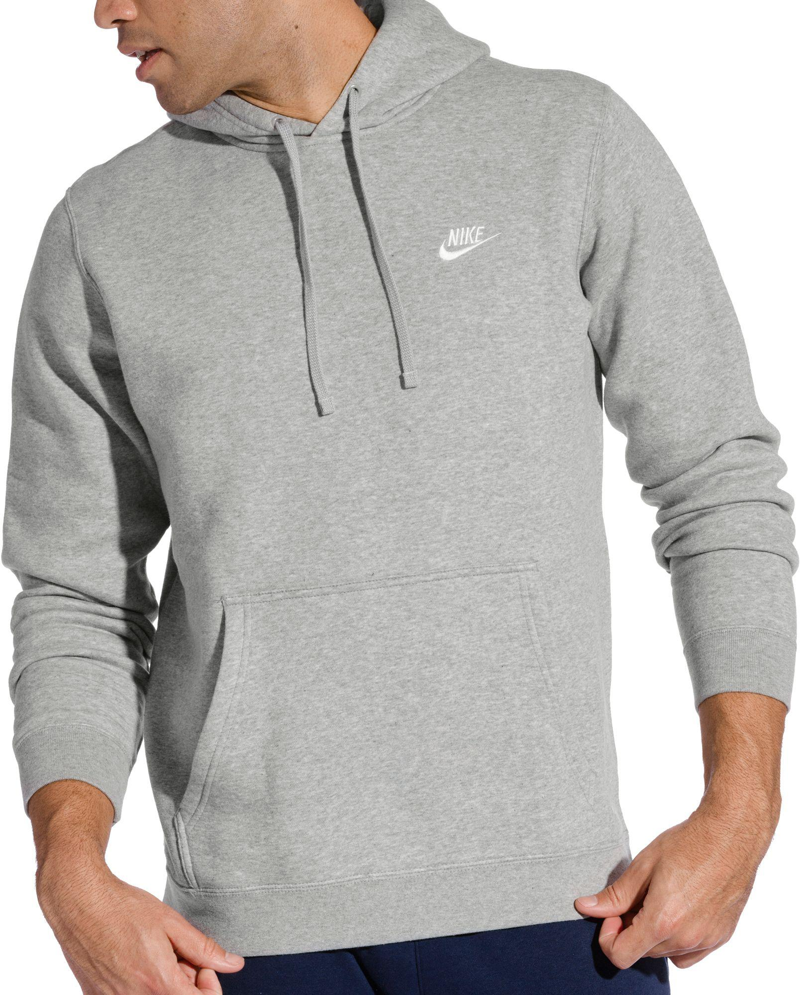 40a5ece02bcc Lyst - Nike Club Fleece Pullover Hoodie in Gray for Men