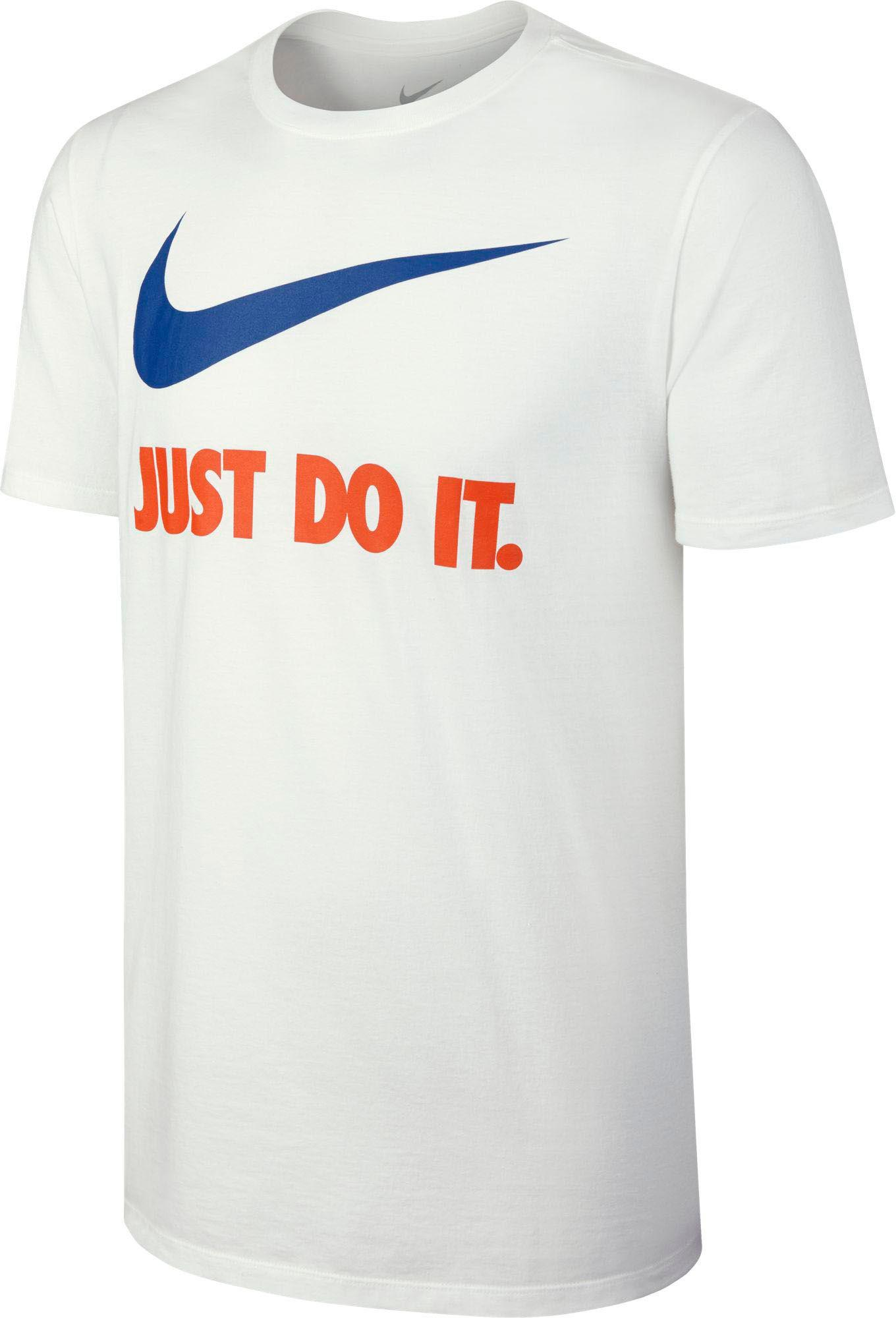 ed334a3b9 Nike New Just Do It Graphic T-shirt in White for Men - Lyst