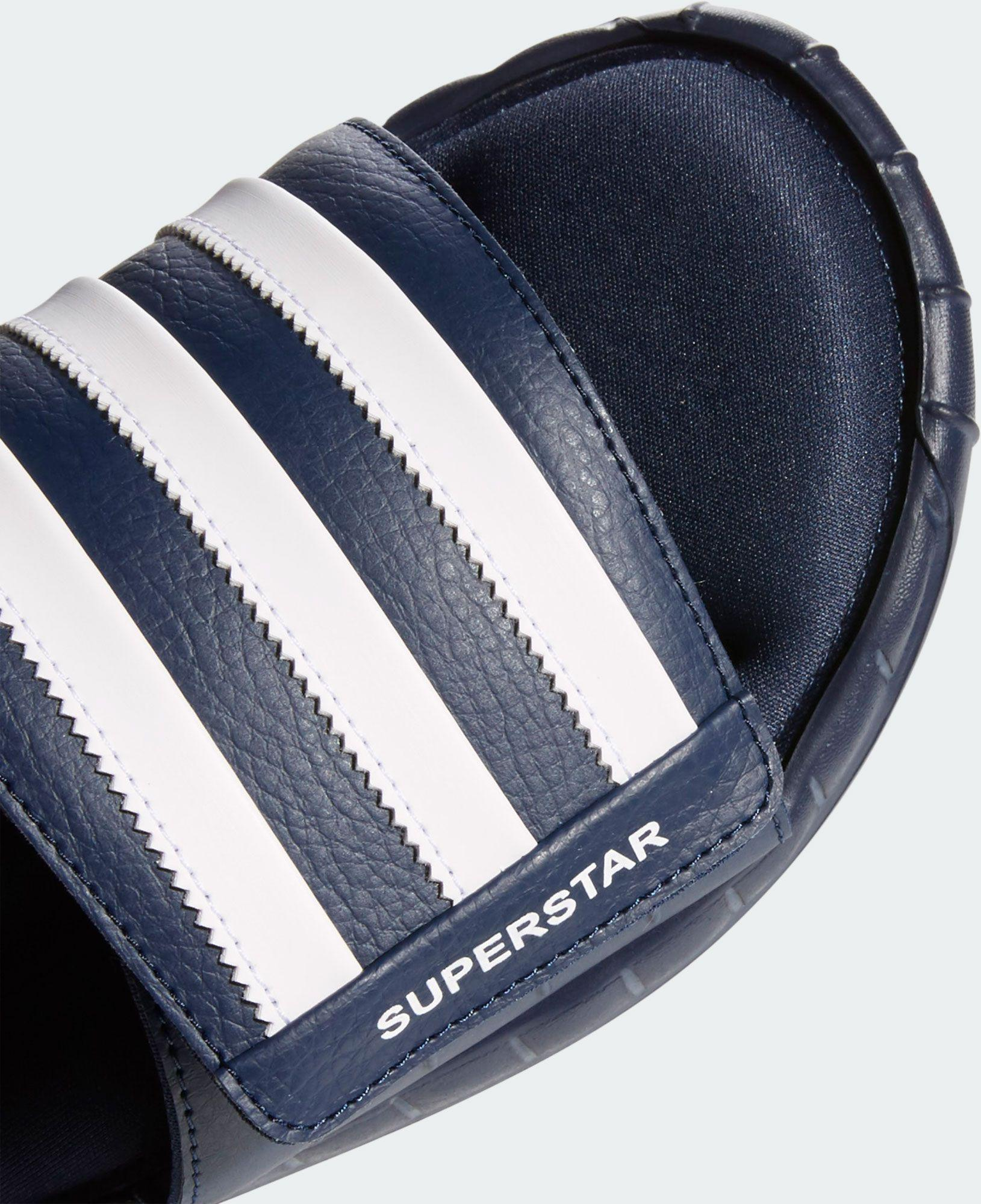 aa183c931a39 Lyst - adidas Superstar 3g Slides in Blue for Men