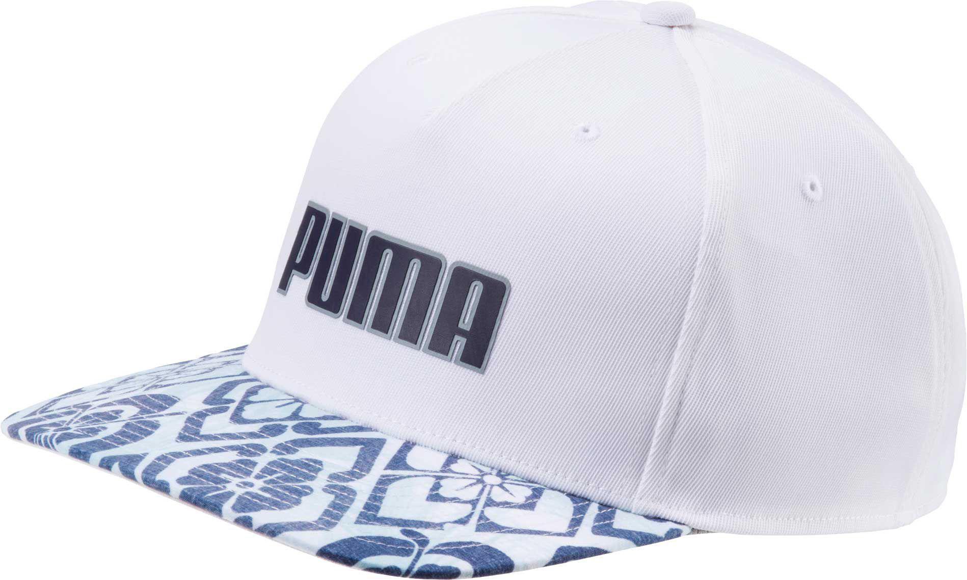ce5acdd3619 Lyst - PUMA Aloha  gotime Flex Snapback Golf Hat in White for Men